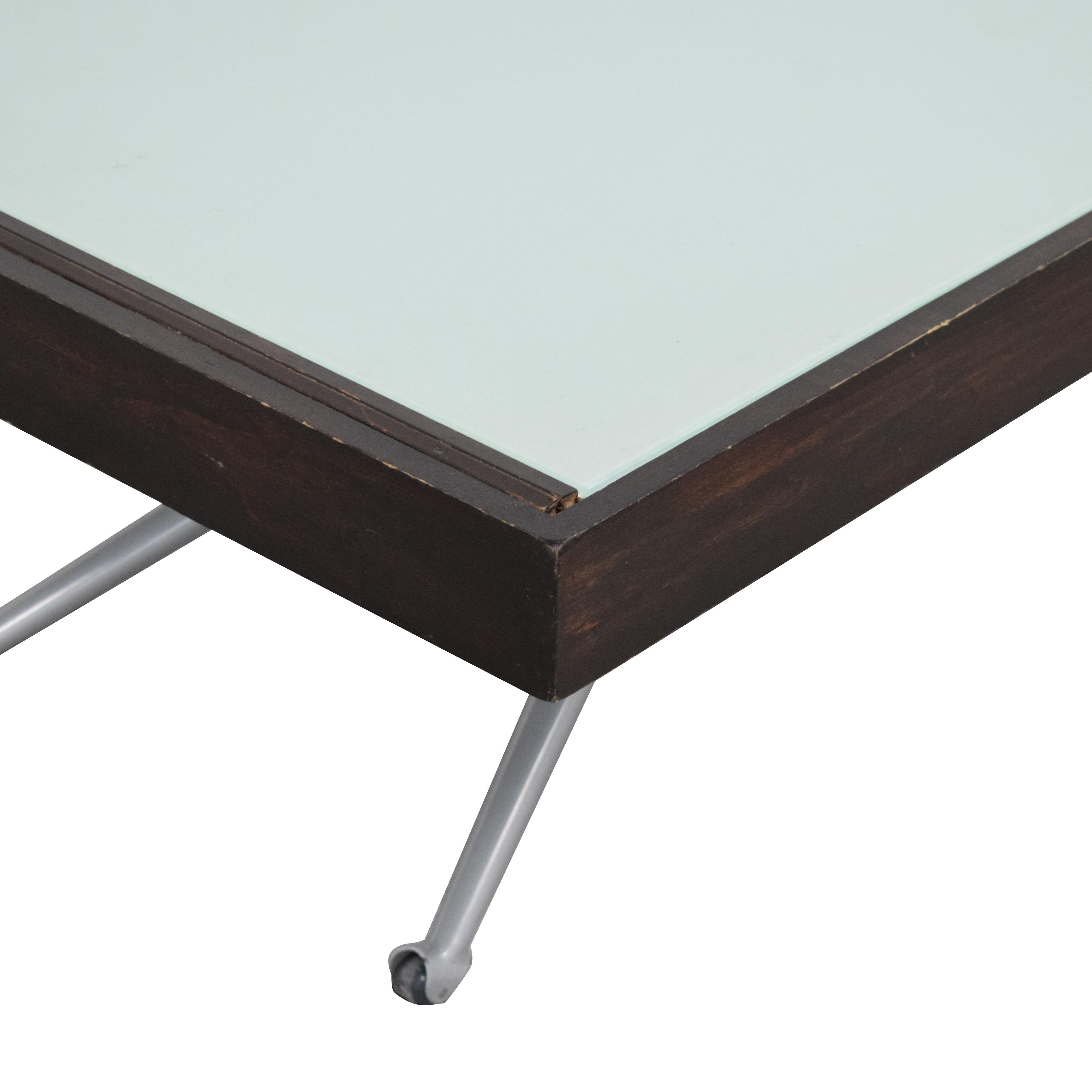 Modern Adjustable Height Coffee Table