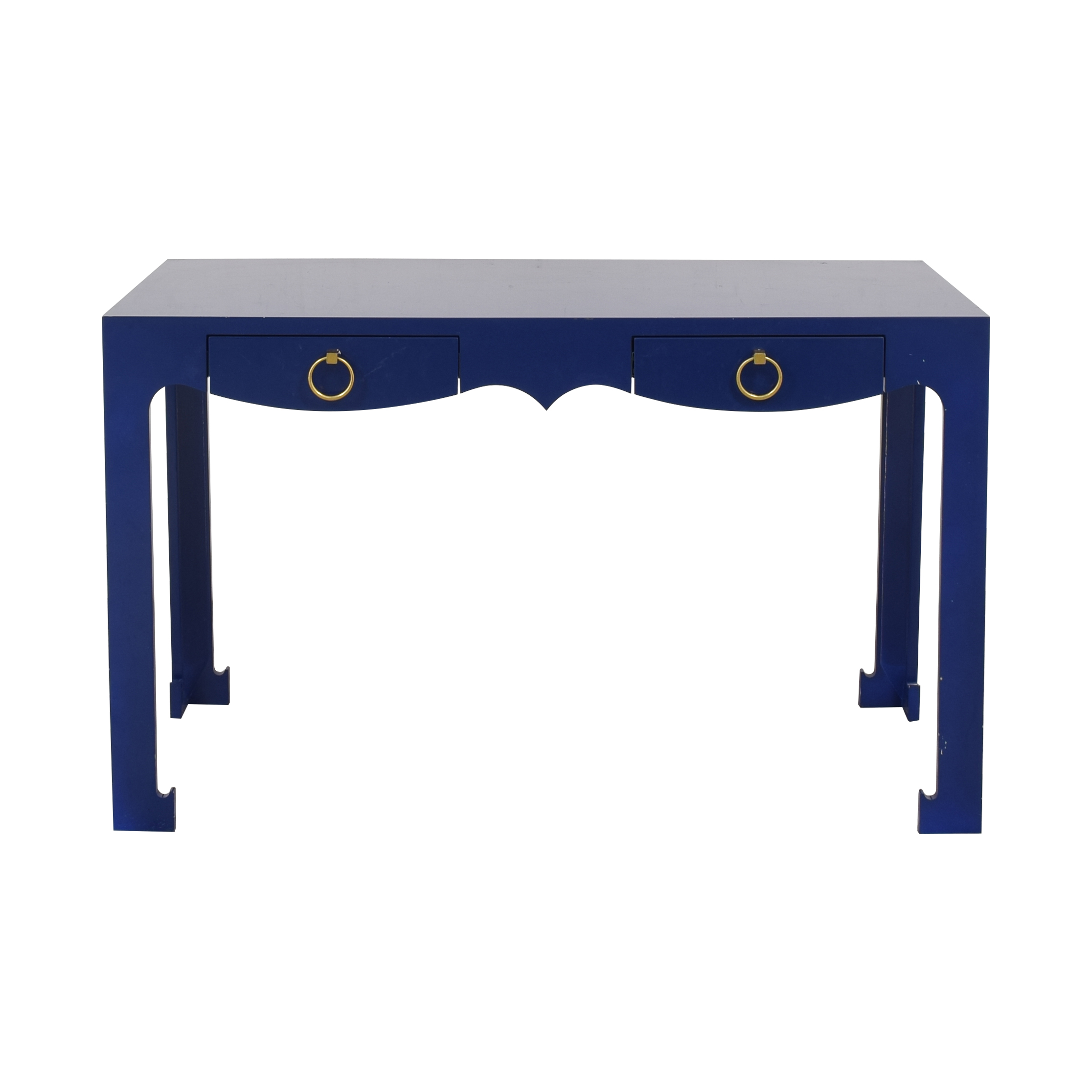 shop  Blue Entry Table with Drawers online