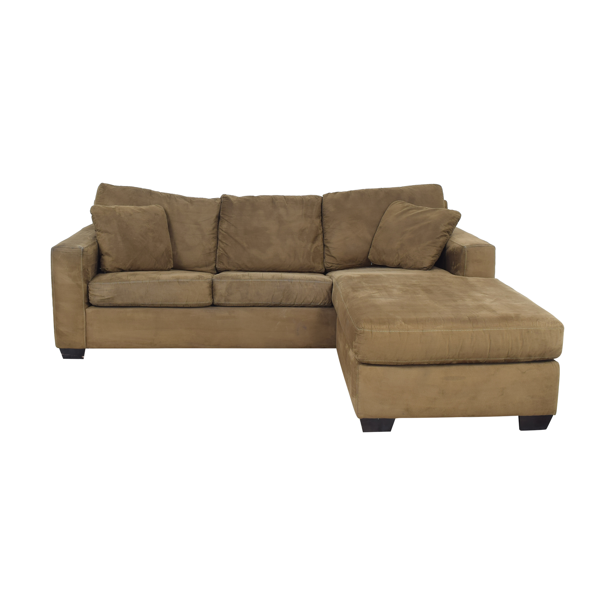 Macy's Macy's L-Shaped Sleeper Sectional Sofa Sectionals