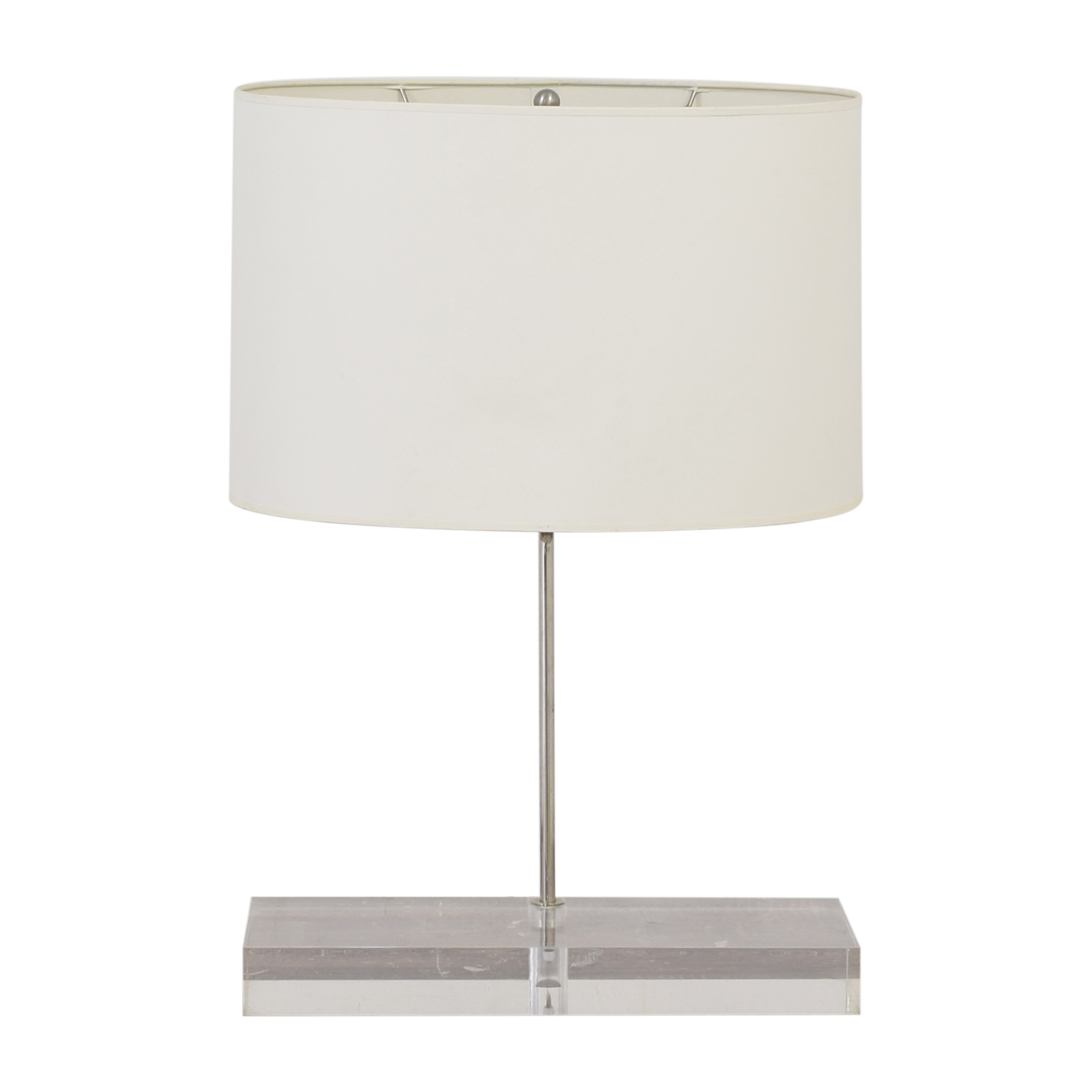 Jonathan Adler Modern Acrylic Table Lamp / Lamps