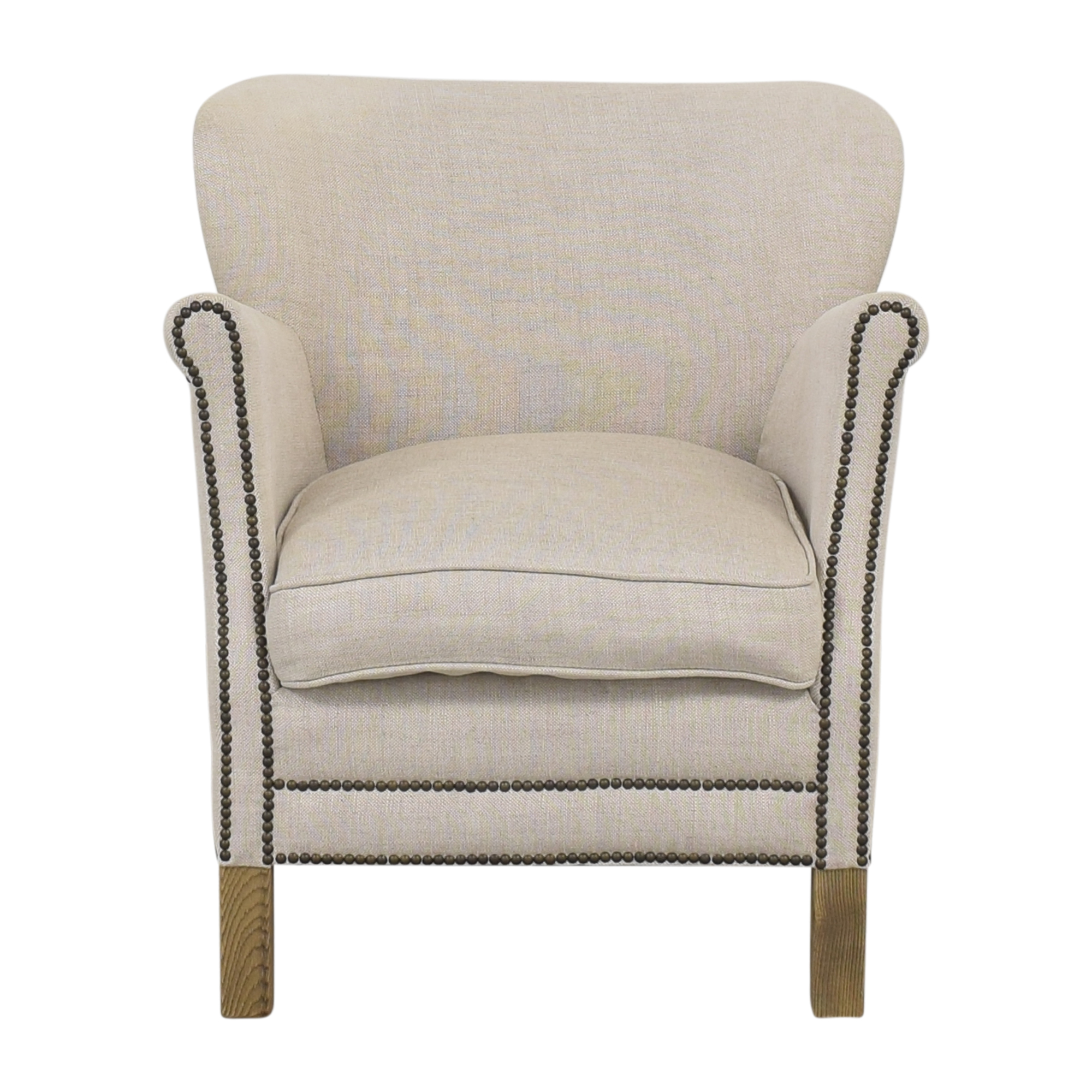 Restoration Hardware Professors Chair with Nailheads / Accent Chairs