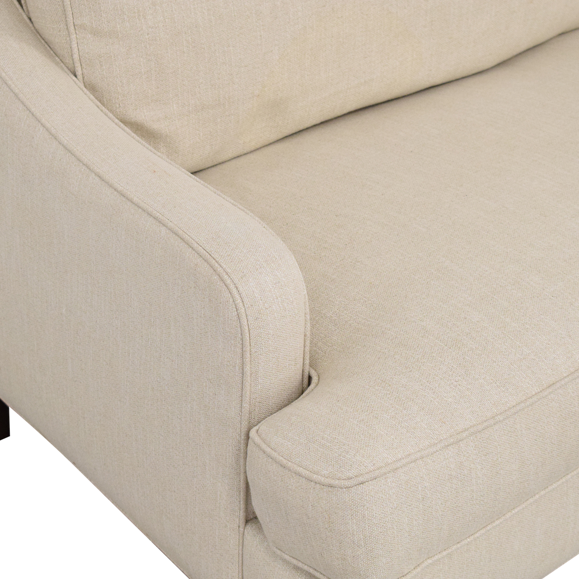Pottery Barn Landon Two Cushion Sofa