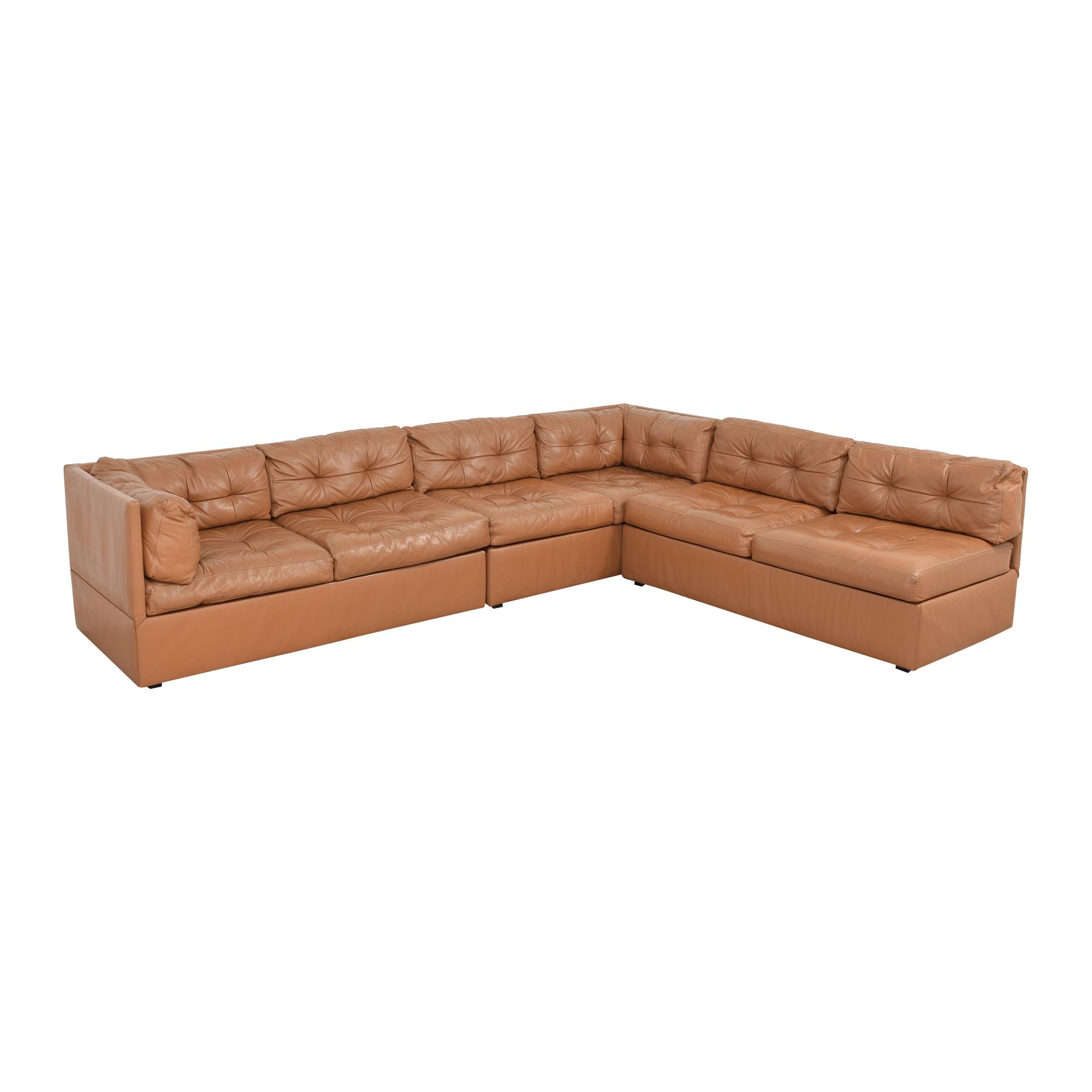 L-Shaped Sectional Sofa pa