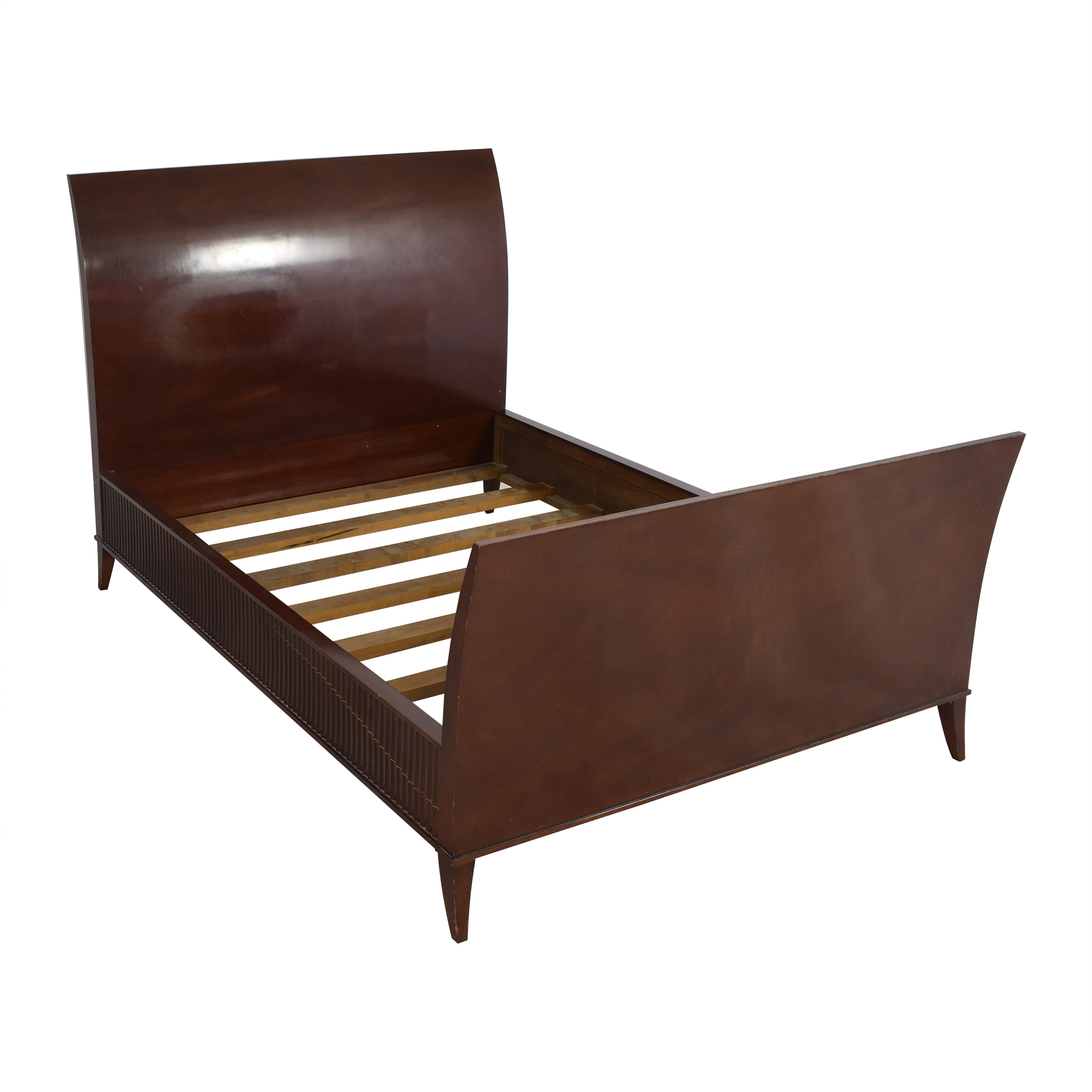 Decca Bolier for Decca Rosenau Collection Queen Sleigh Bed dimensions