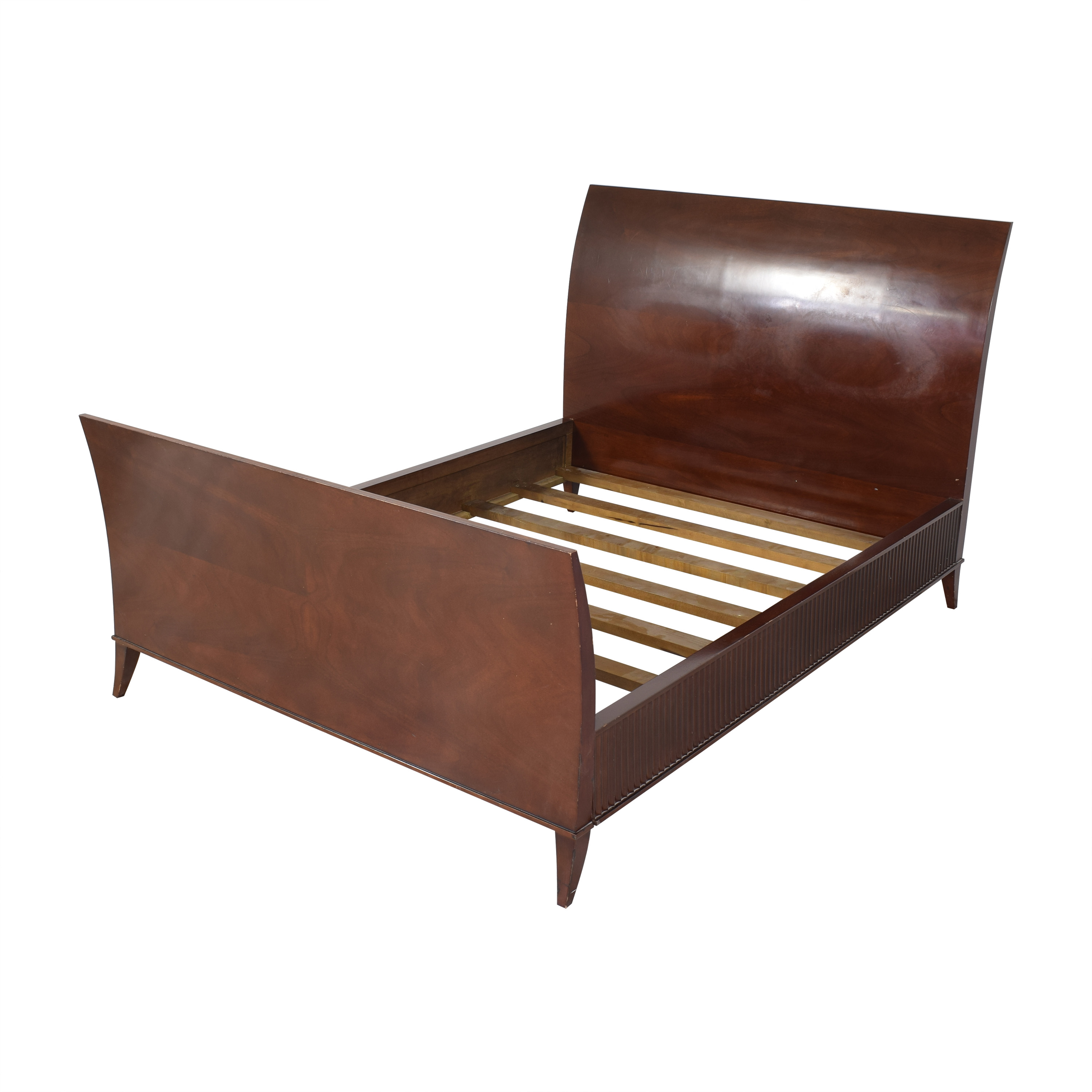 Decca Bolier for Decca Rosenau Collection Queen Sleigh Bed second hand