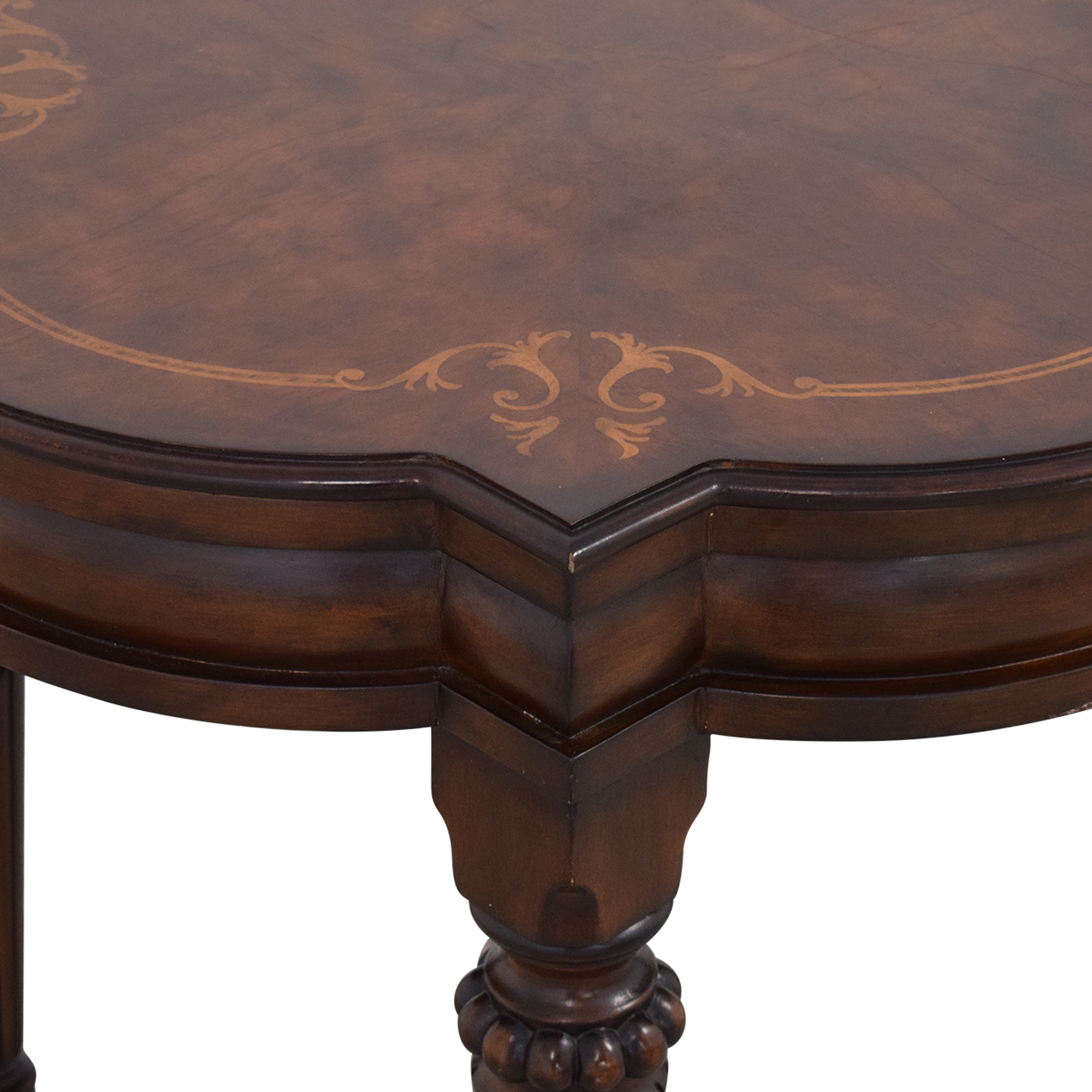 Ethan Allen Ethan Allen Marquetry Inlaid End Table dimensions