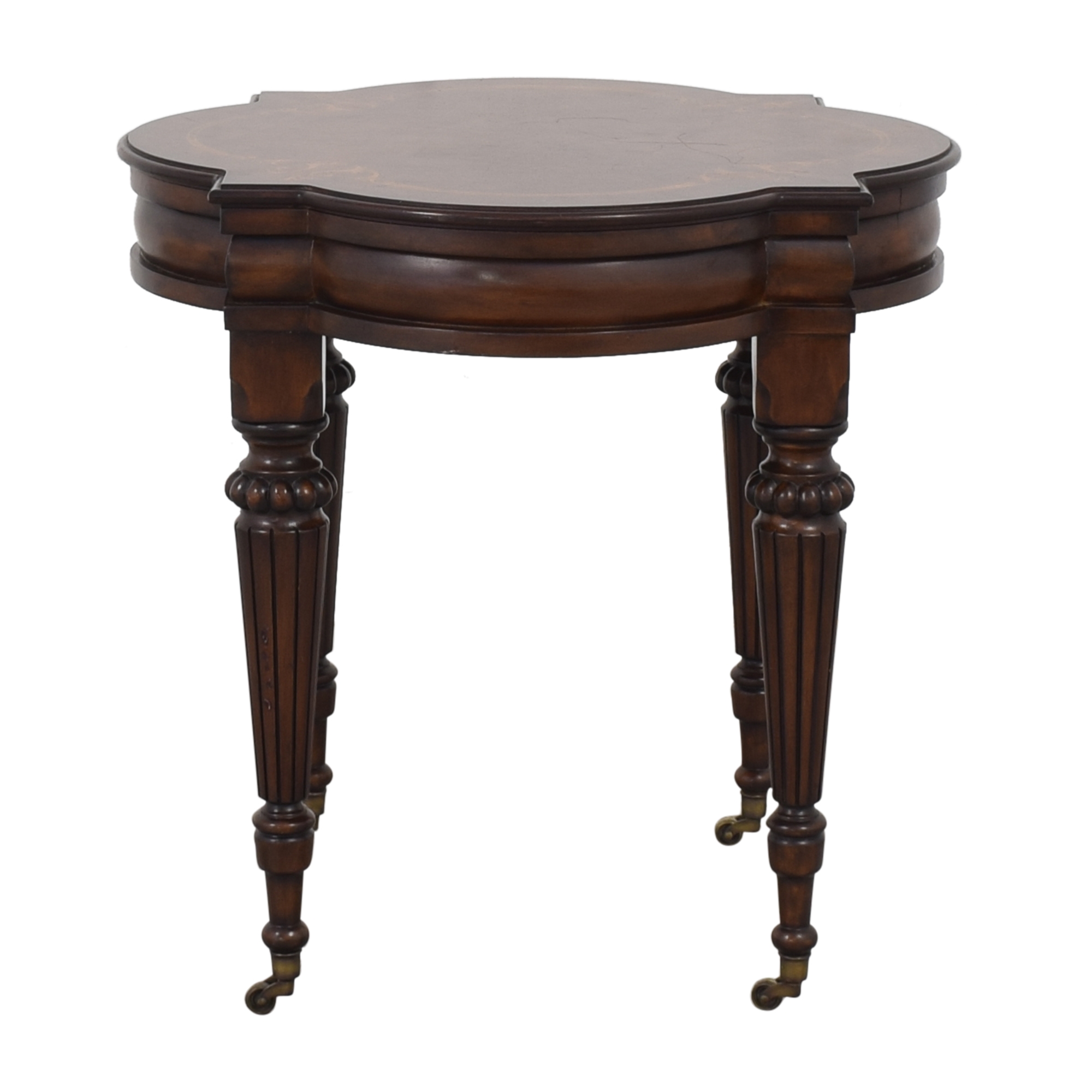 buy Ethan Allen Marquetry Inlaid End Table Ethan Allen Tables