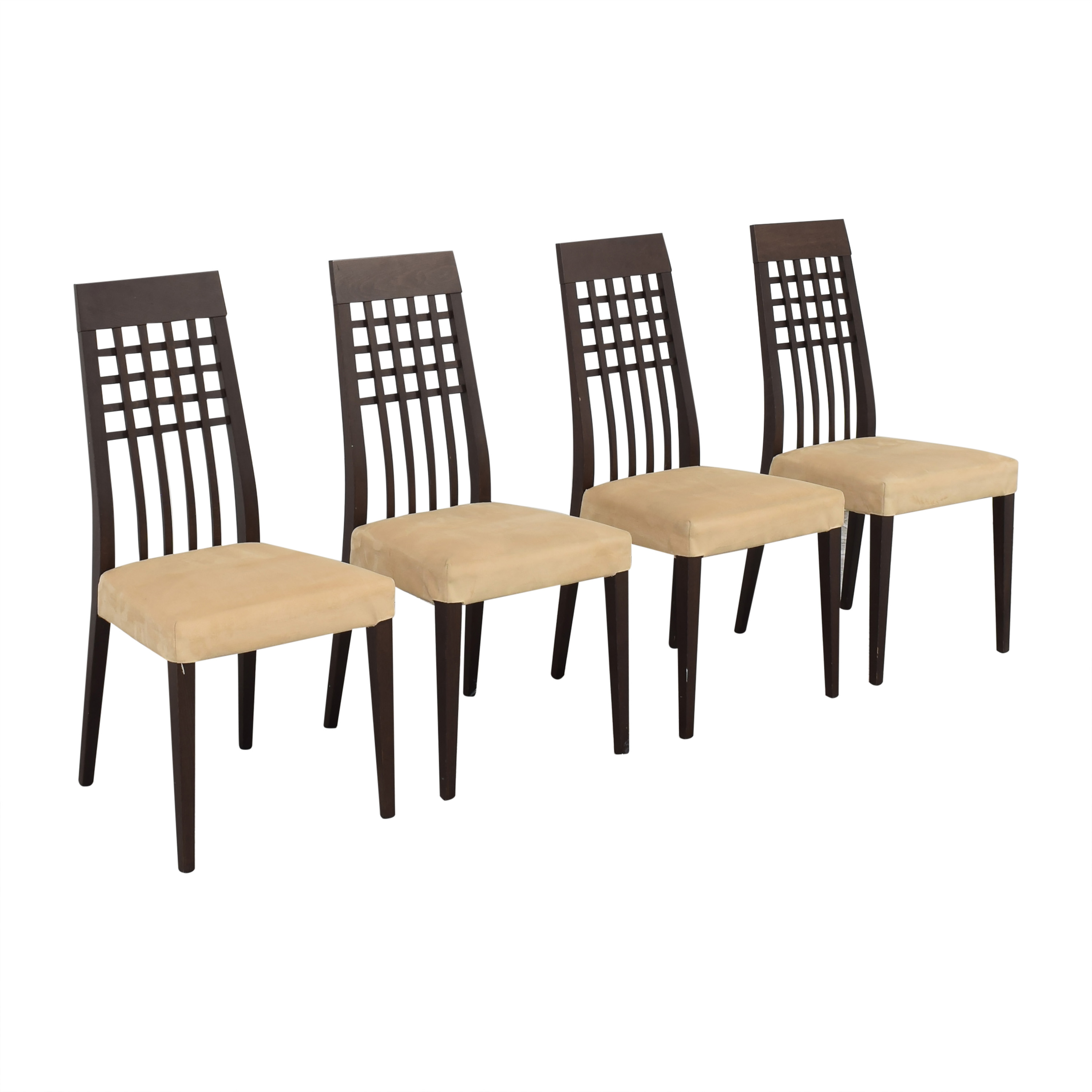 Calligaris Calligaris Upholstered Dining Chairs beige and brown