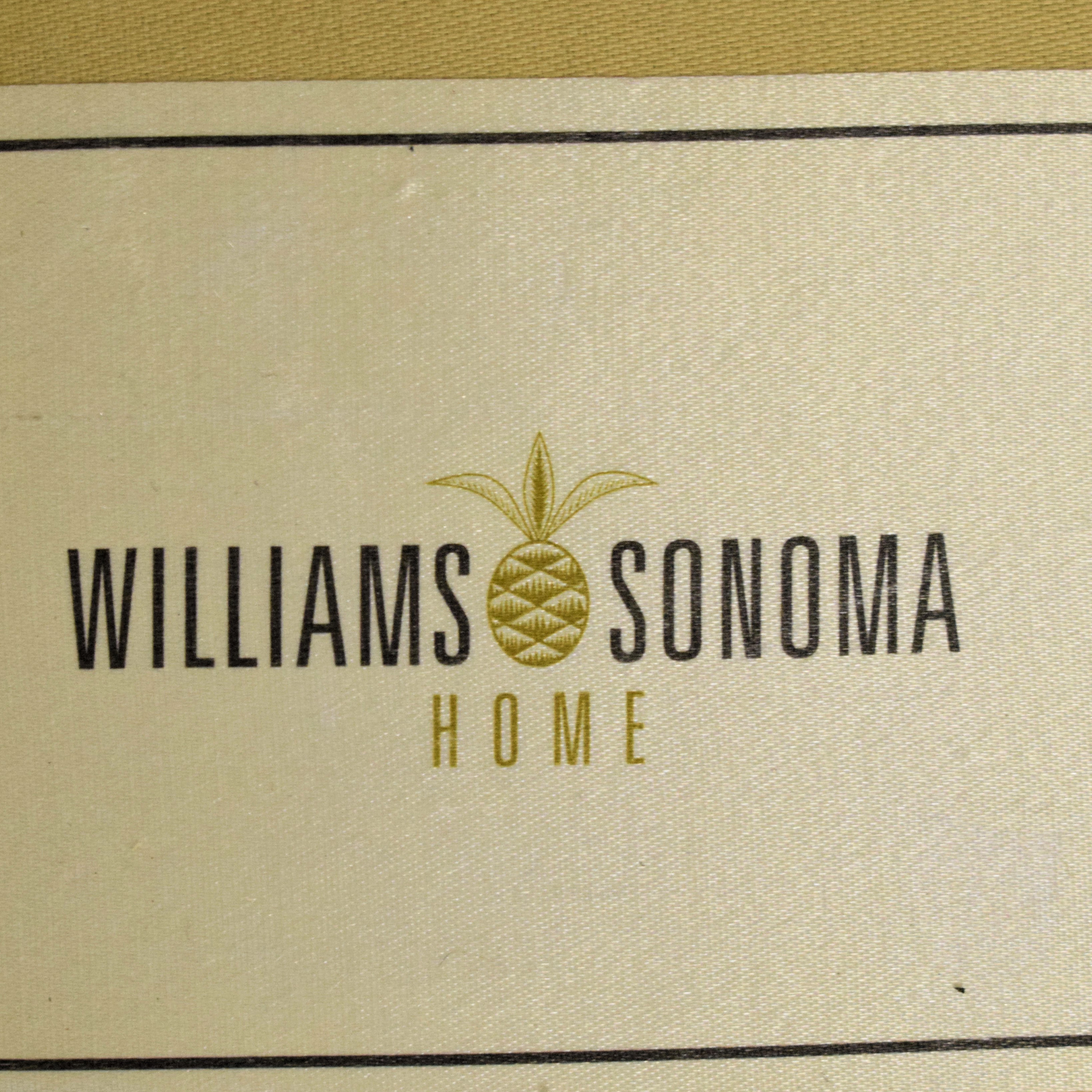 Williams Sonoma Williams Sonoma Upholstered Accent Chair brown
