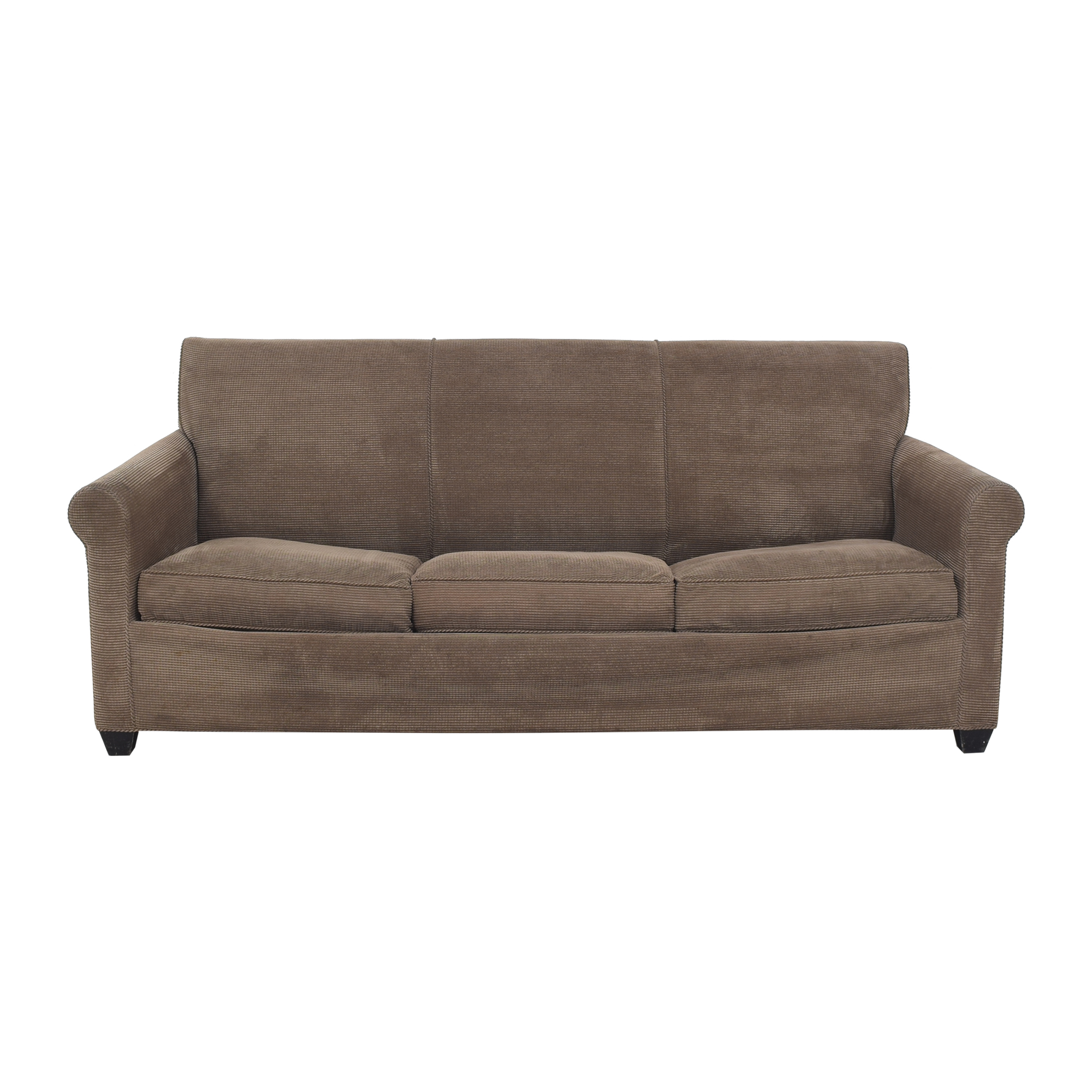 Crate & Barrel Crate & Barrel Sleeper Sofa brown