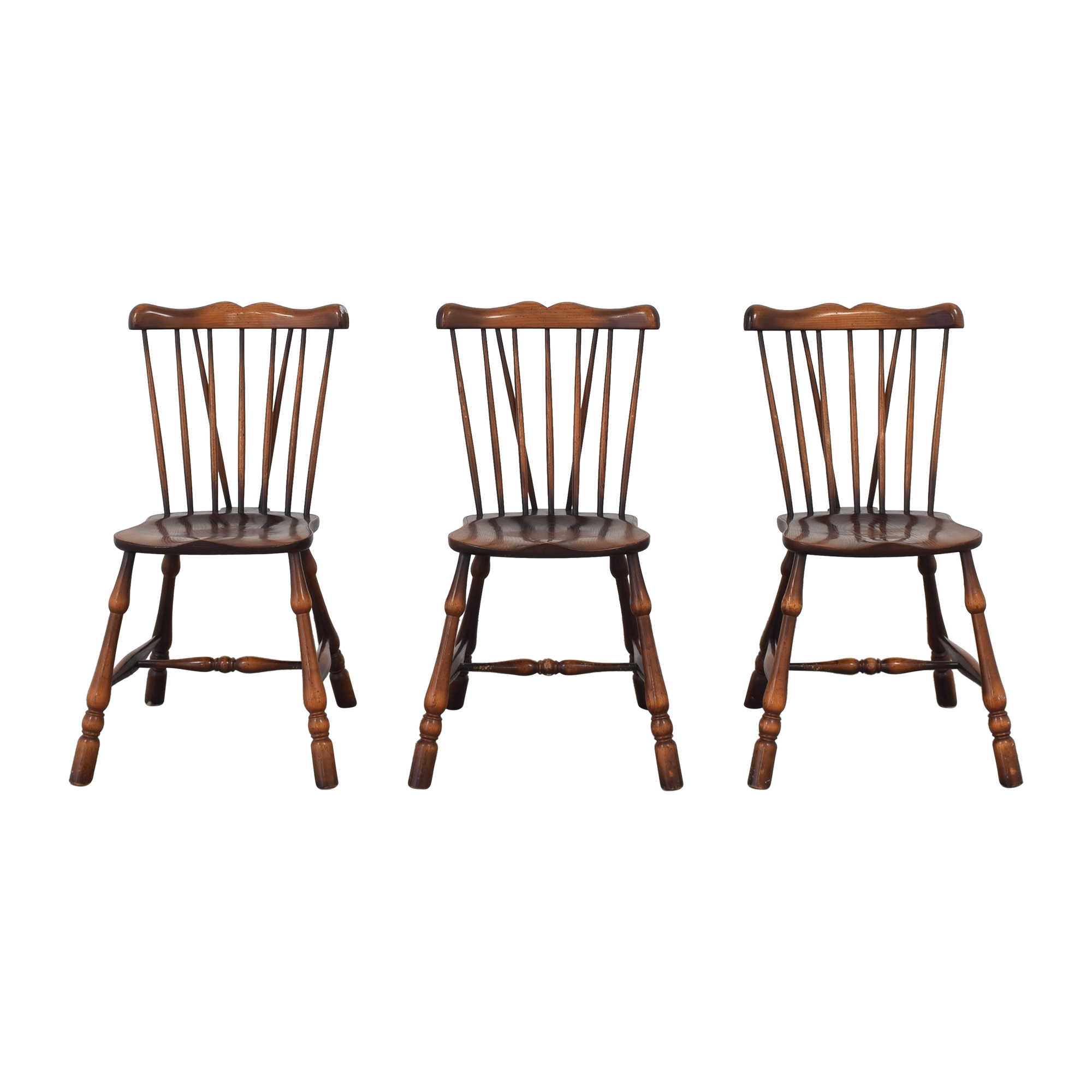 ABC Carpet & Home Windsor Brace Back Dining Chairs / Dining Chairs