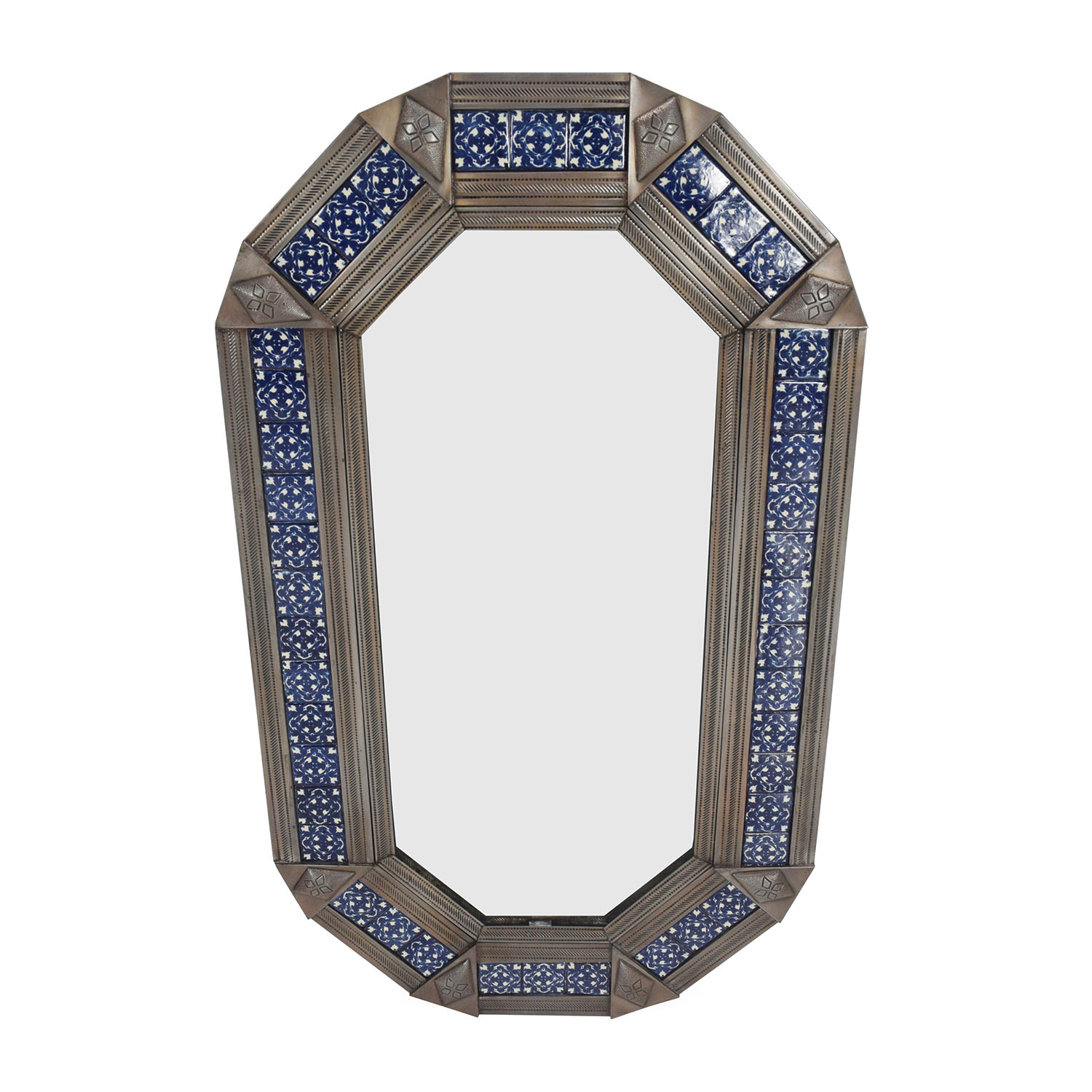 Metal Framed Mirror / Decor
