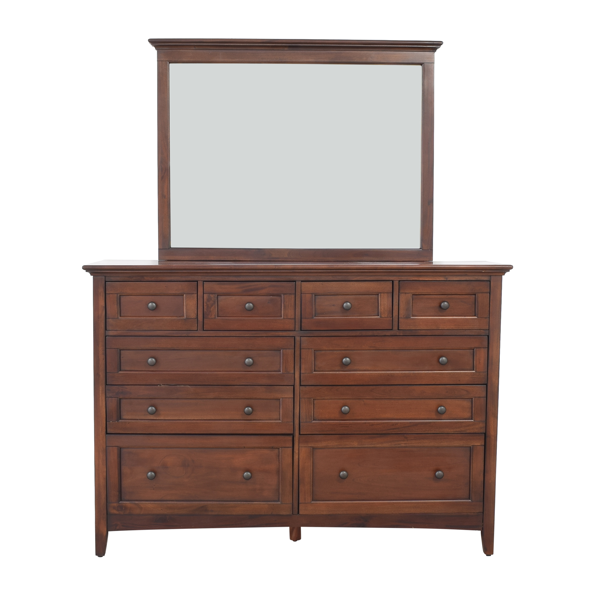 shop A-America Westlake Master Dresser with Mirror A-America Wood Furniture Dressers