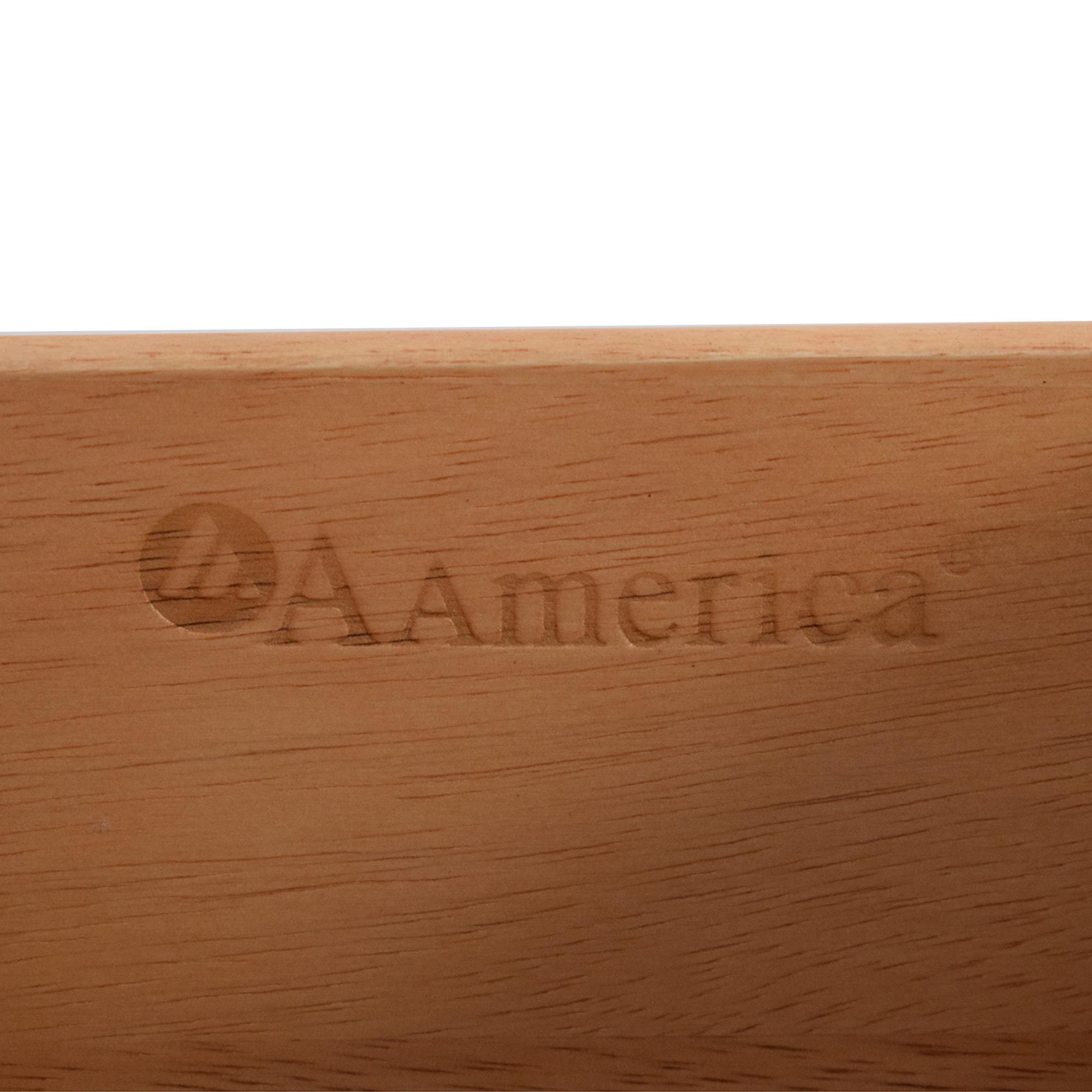 A-America Wood Furniture A-America Westlake Master Dresser with Mirror Storage