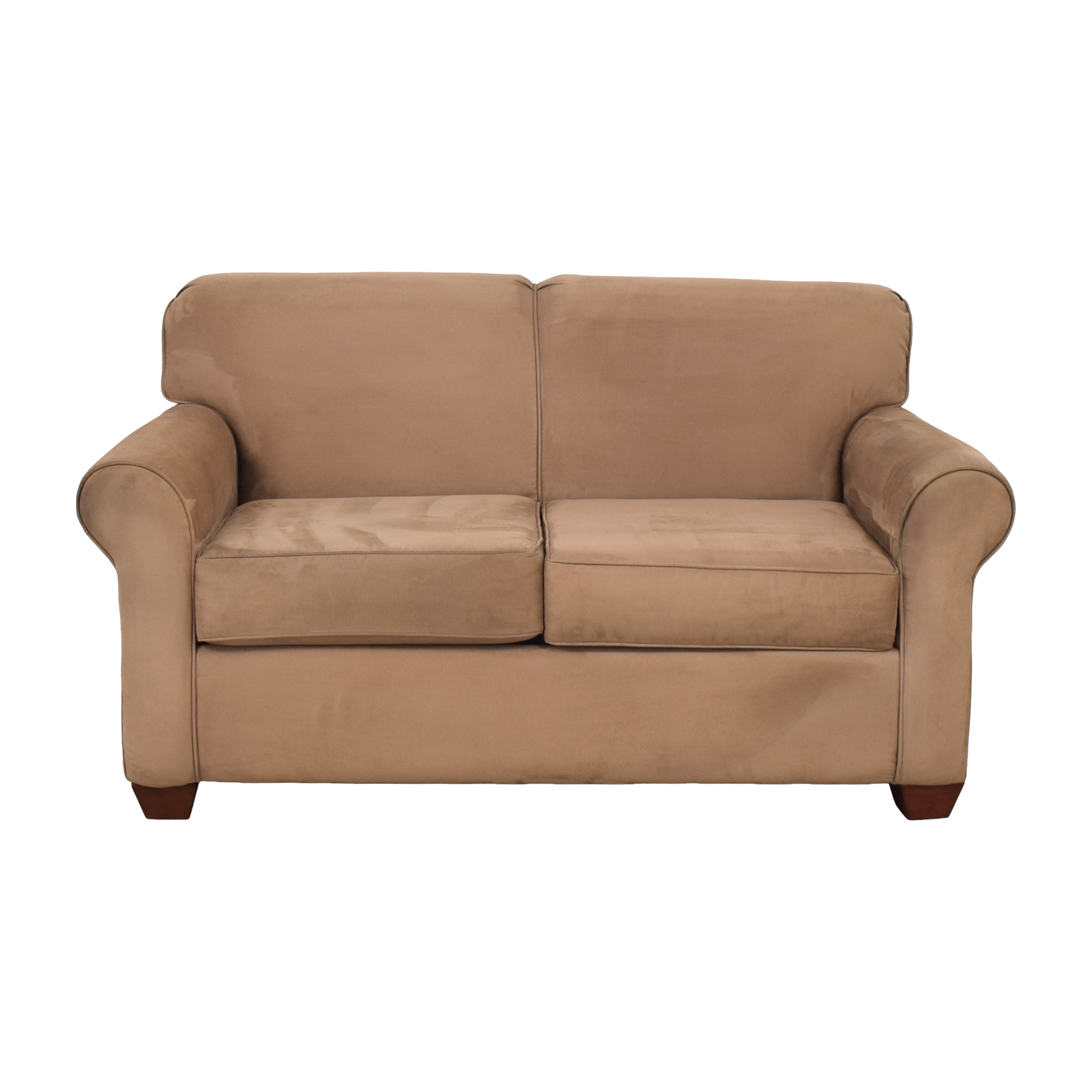 Klaussner Klaussner Two Cushion Loveseat beige