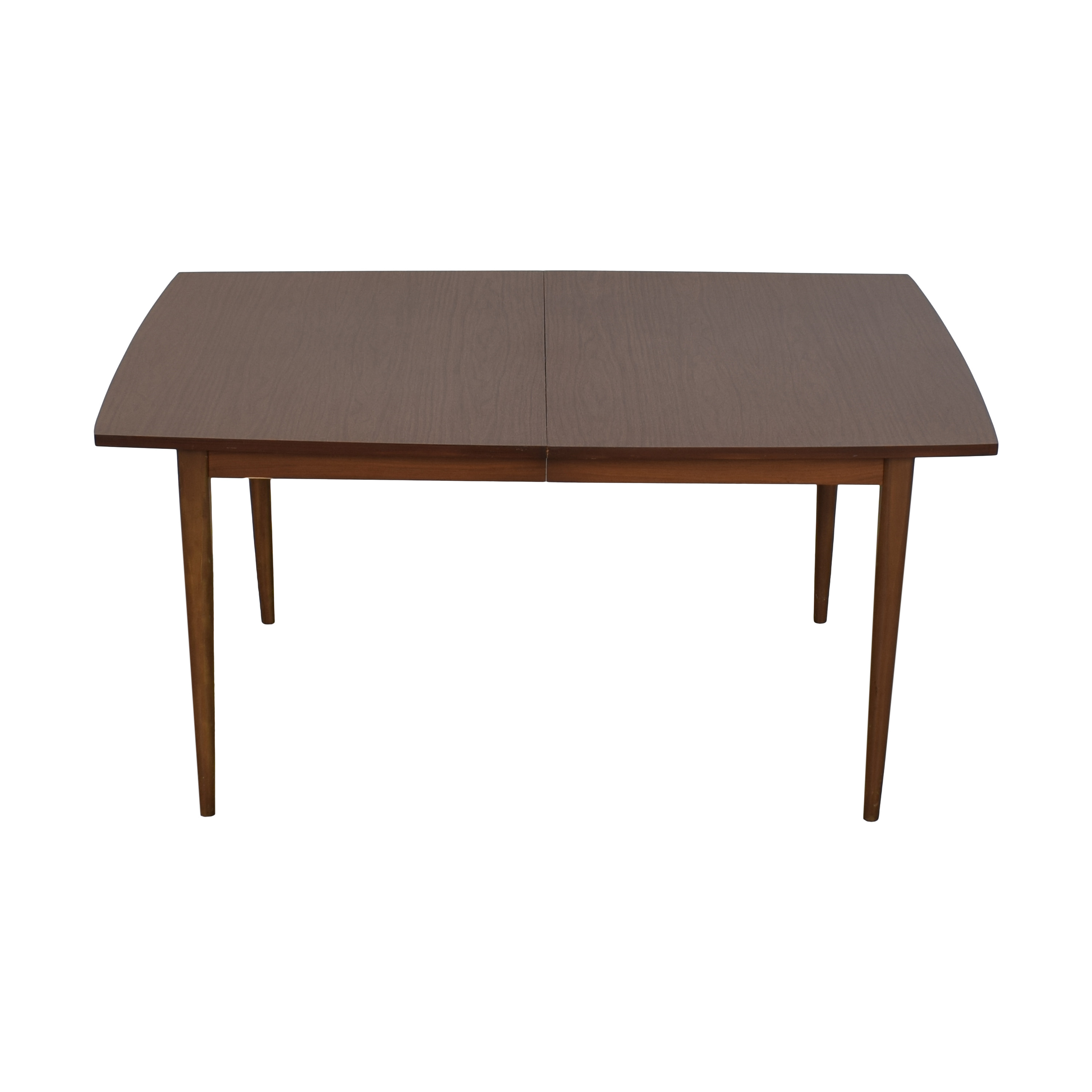 Mid Century Extendable Dining Room Table second hand