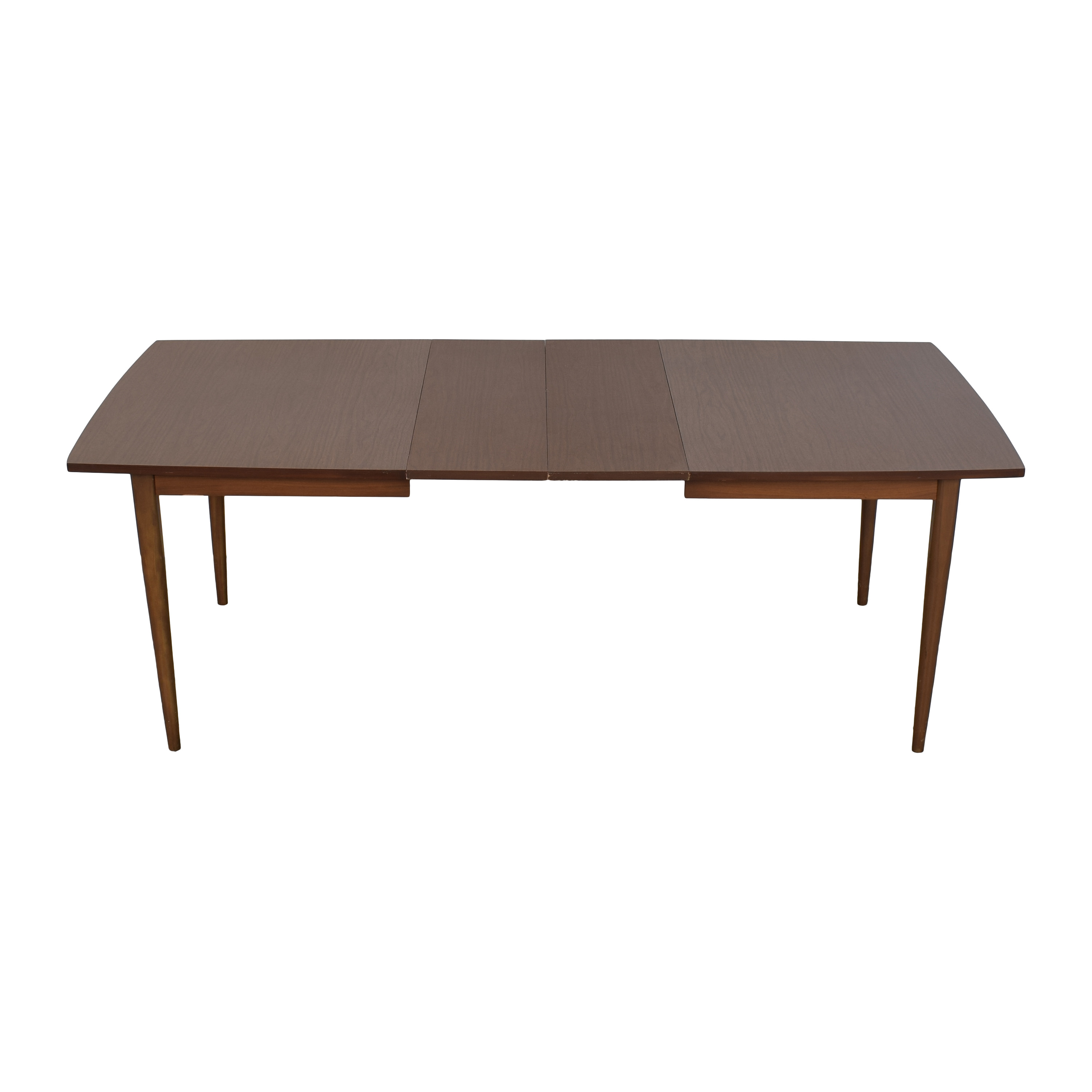 Mid Century Extendable Dining Room Table used