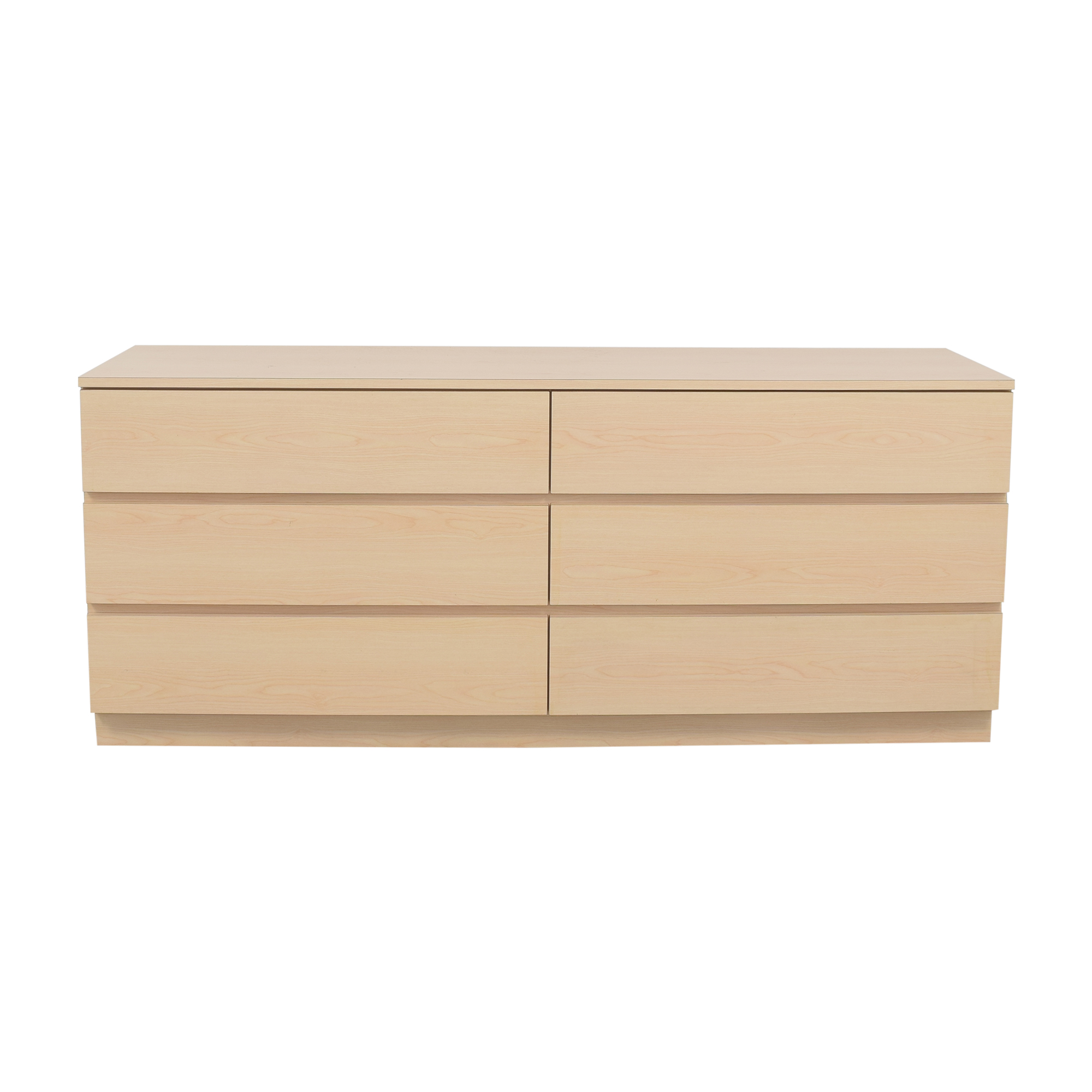Wide Six Drawer Dresser / Dressers