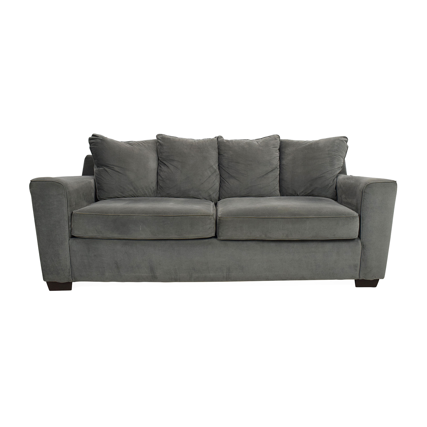 Jennifer Convertibles Jennifer Convertibles Grey Couch price