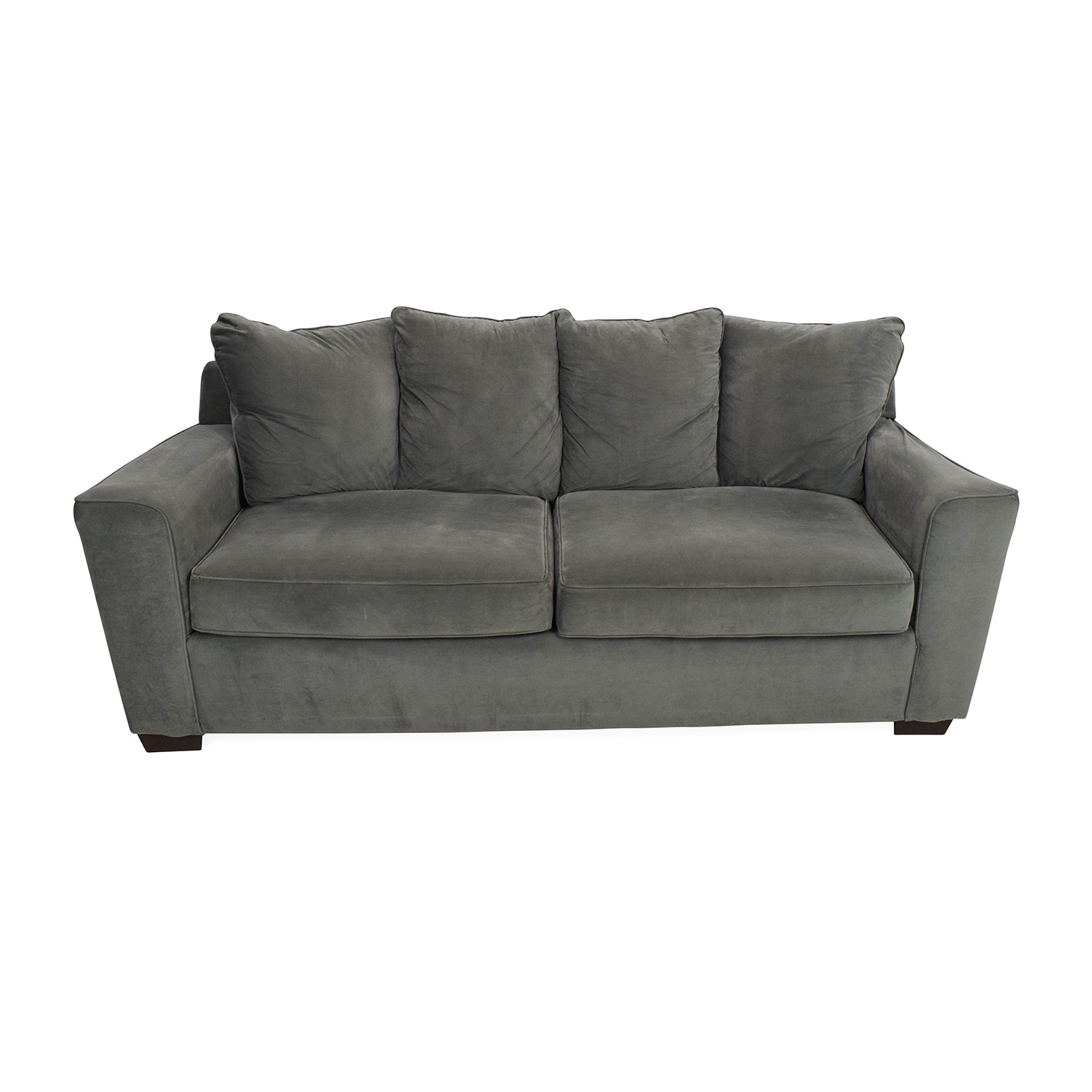 shop Jennifer Convertibles Grey Couch Jennifer Convertibles