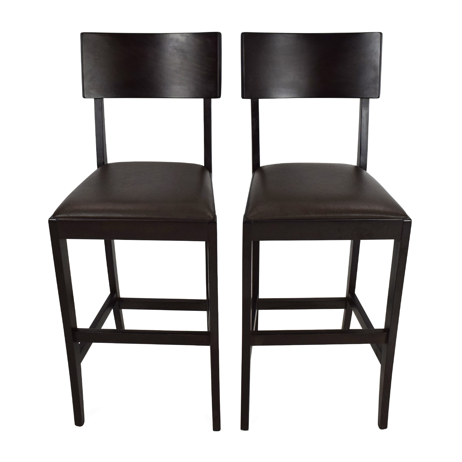 52 OFF Crate and Barrel Crate and Barrel Bar Stools Chairs
