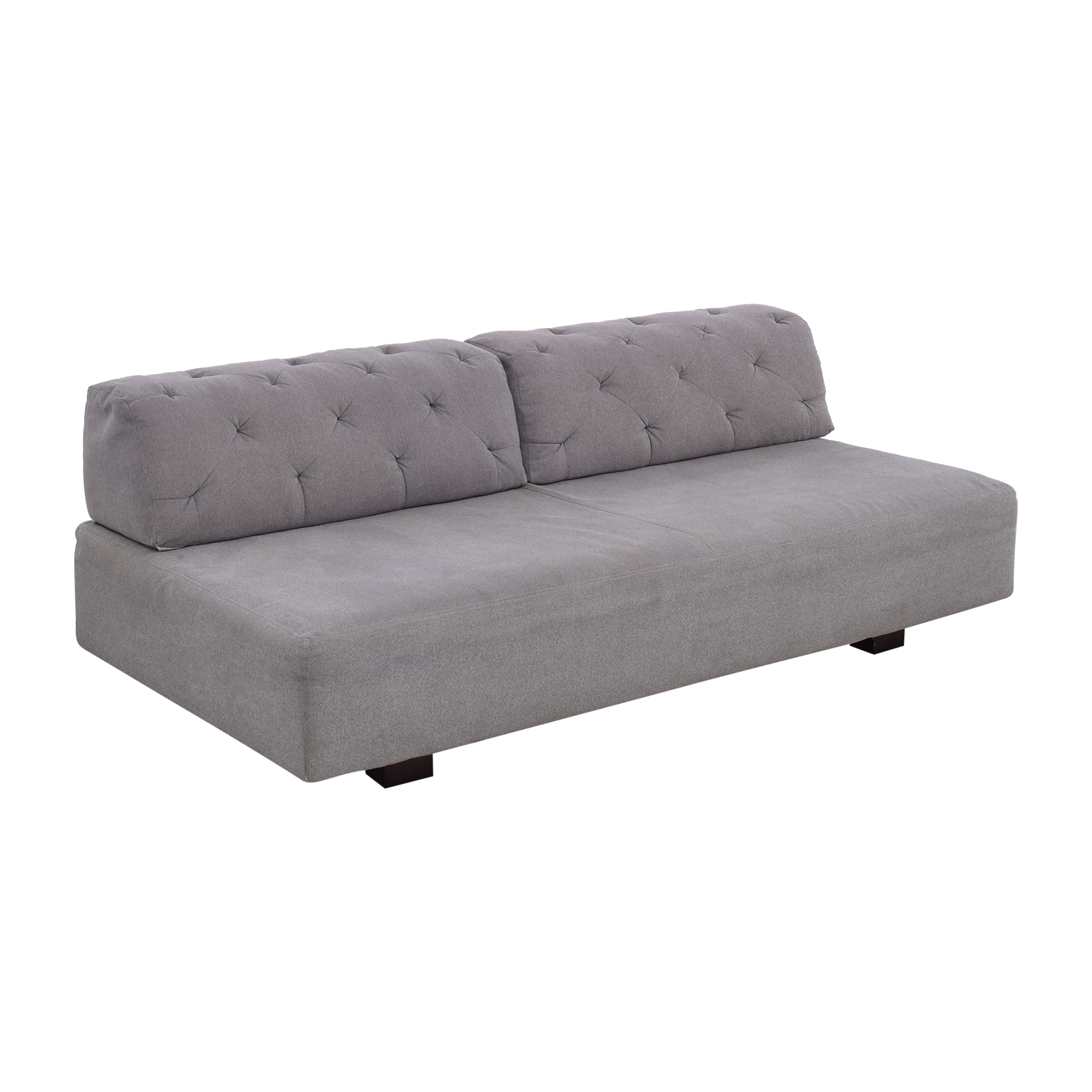 buy West Elm Tillary Sofa with Tufted Back Cushions West Elm Classic Sofas