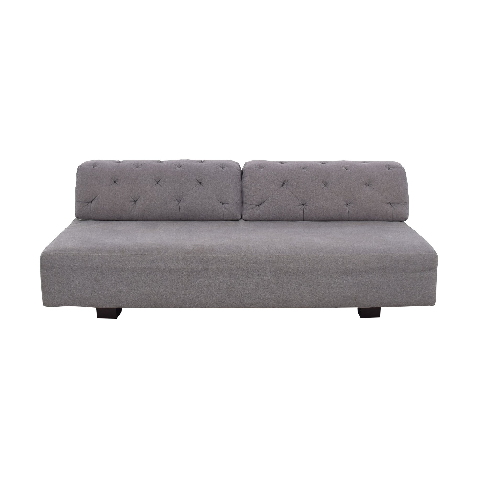 buy West Elm Tillary Sofa with Tufted Back Cushions West Elm