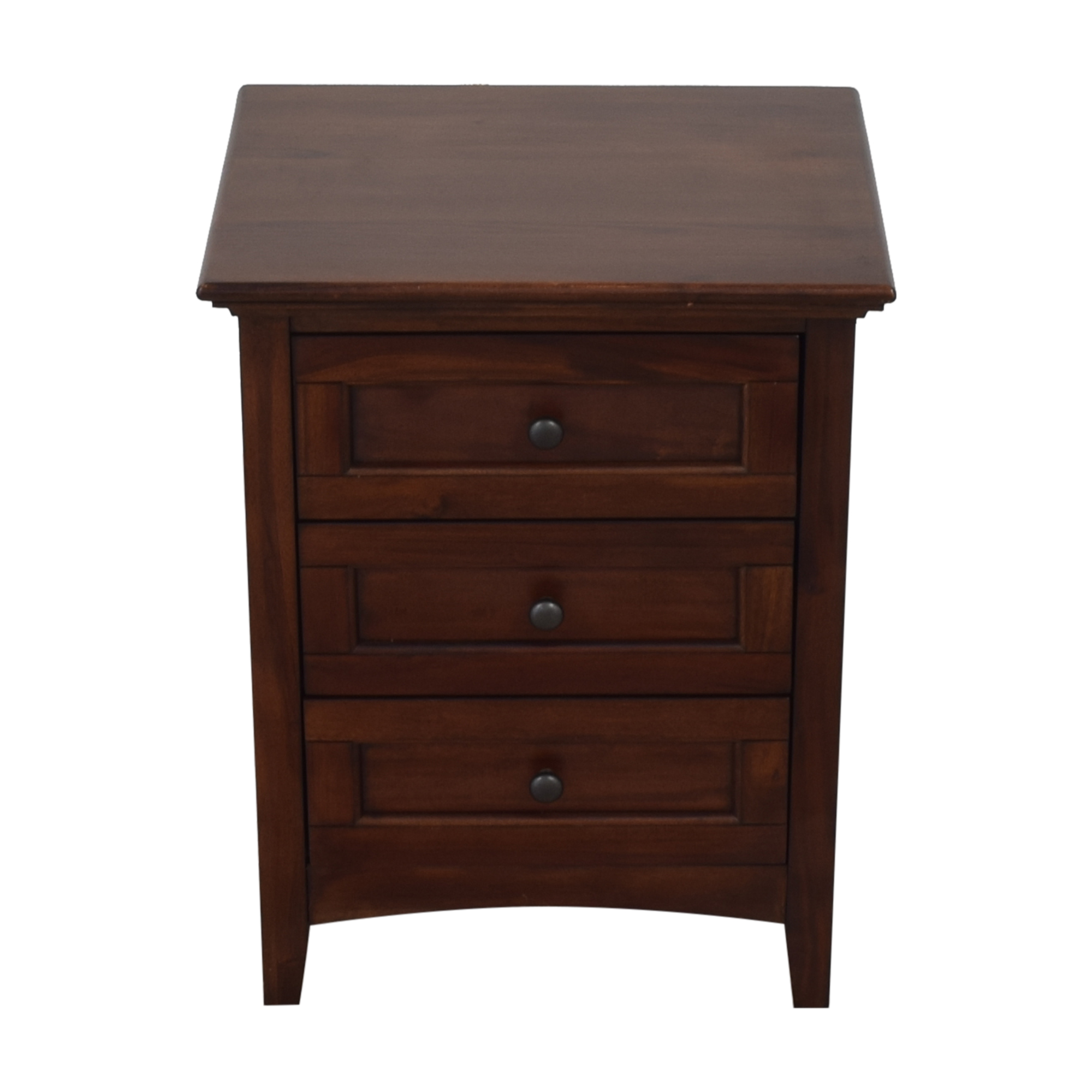 A-America Wood Furniture A-America Three Drawer Nightstand ct