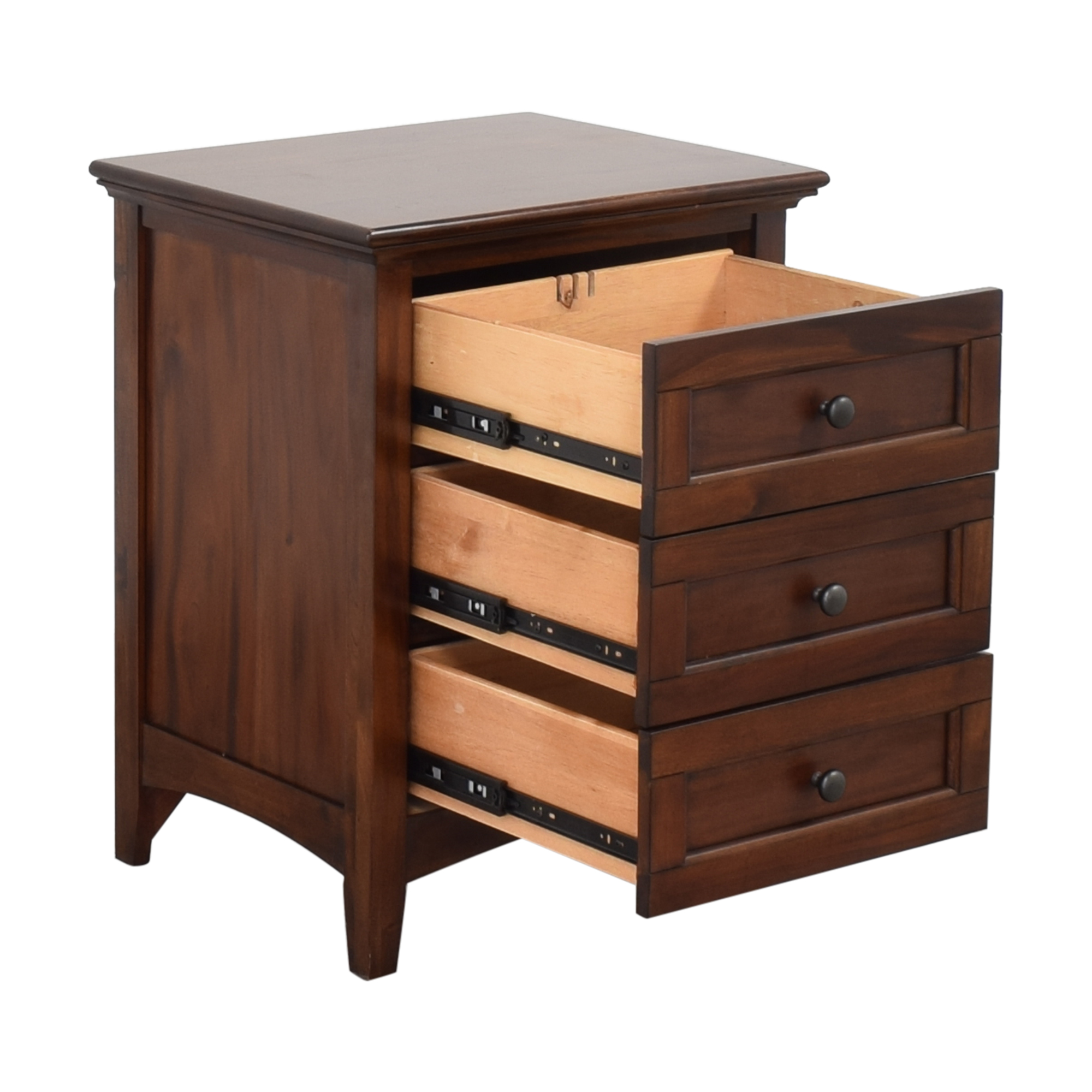 buy A-America Three Drawer Nightstand A-America Wood Furniture End Tables