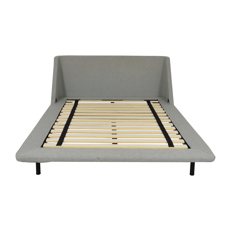 shop Blu Dot Nook Collection Queen Bed Blu Dot Bed Frames