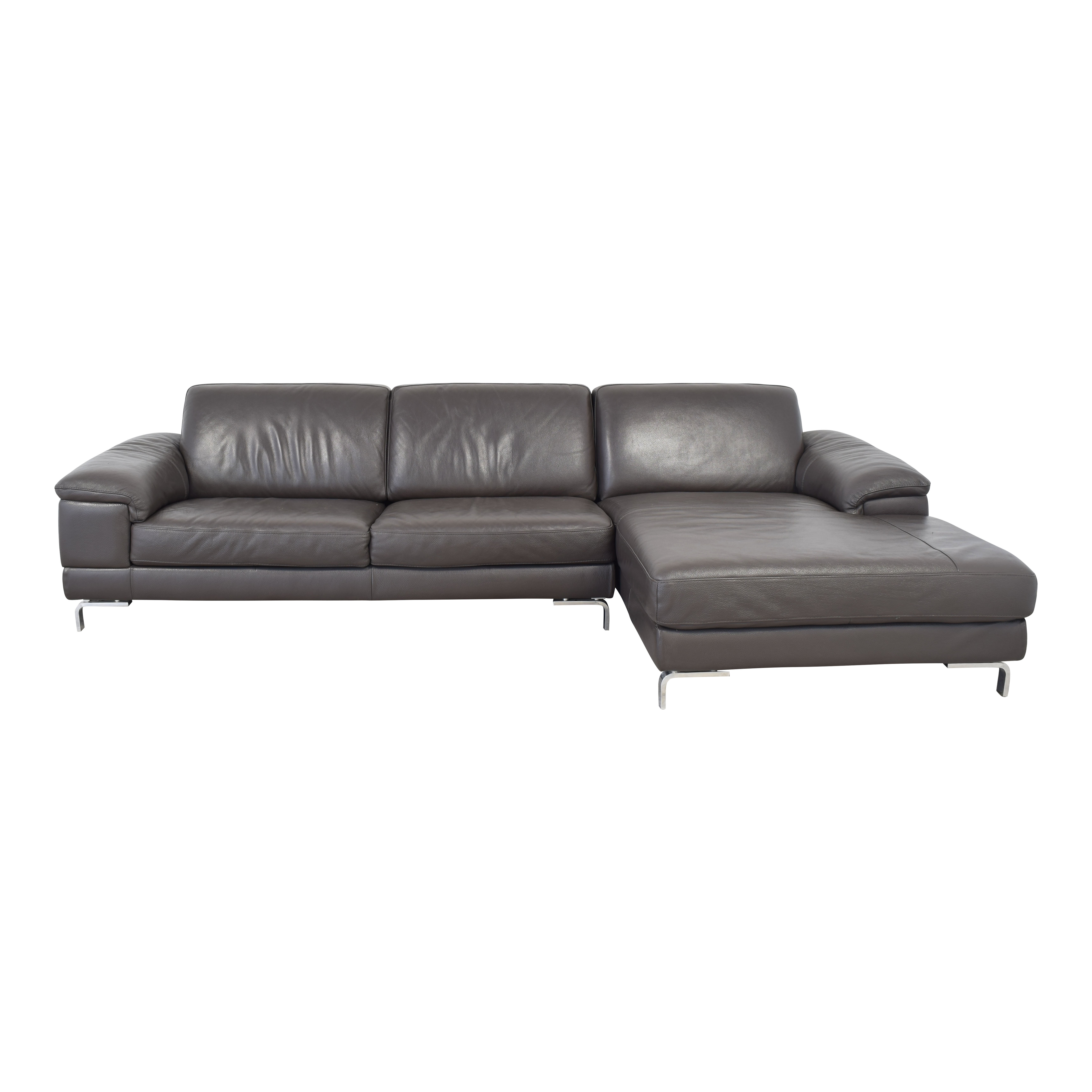 shop Nicoletti Dorian 2-Piece Sectional Sofa Nicoletti Home Sectionals