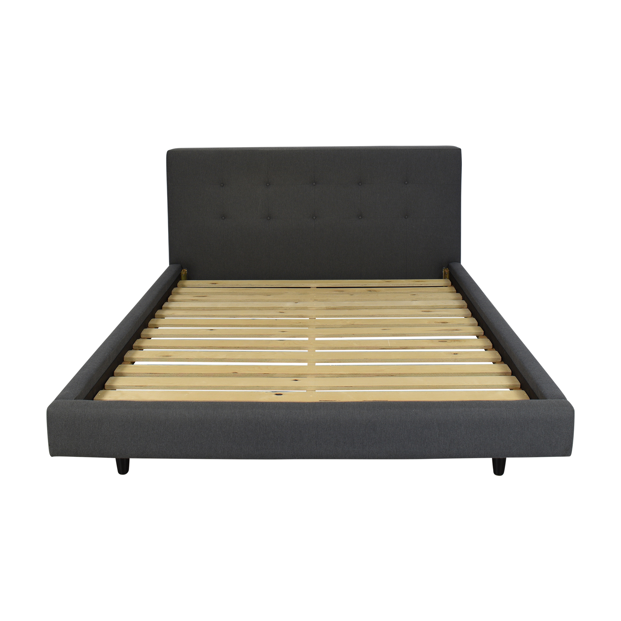 Crate & Barrel Crate & Barrel Tate Queen Bed ct