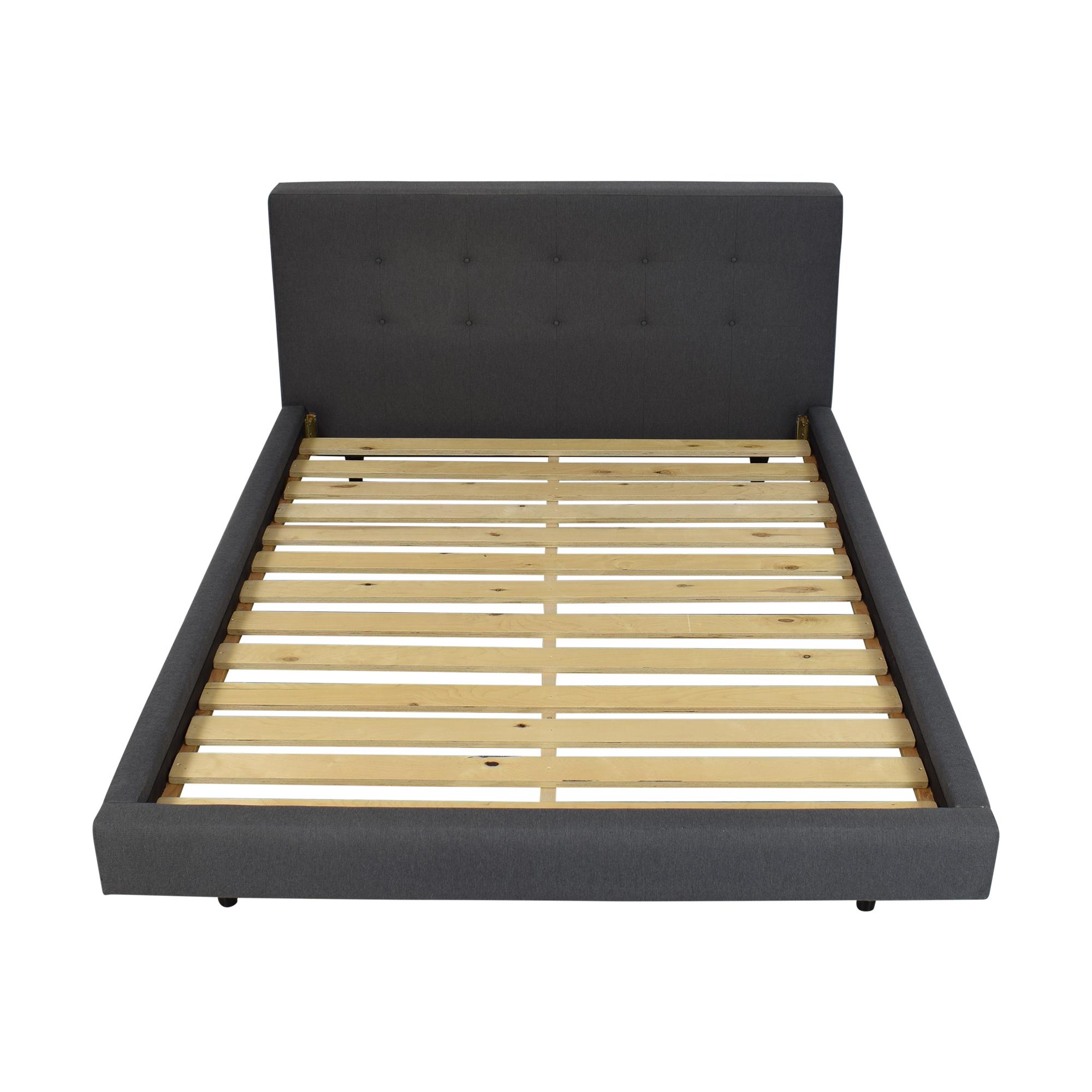 buy Crate & Barrel Tate Queen Bed Crate & Barrel Beds