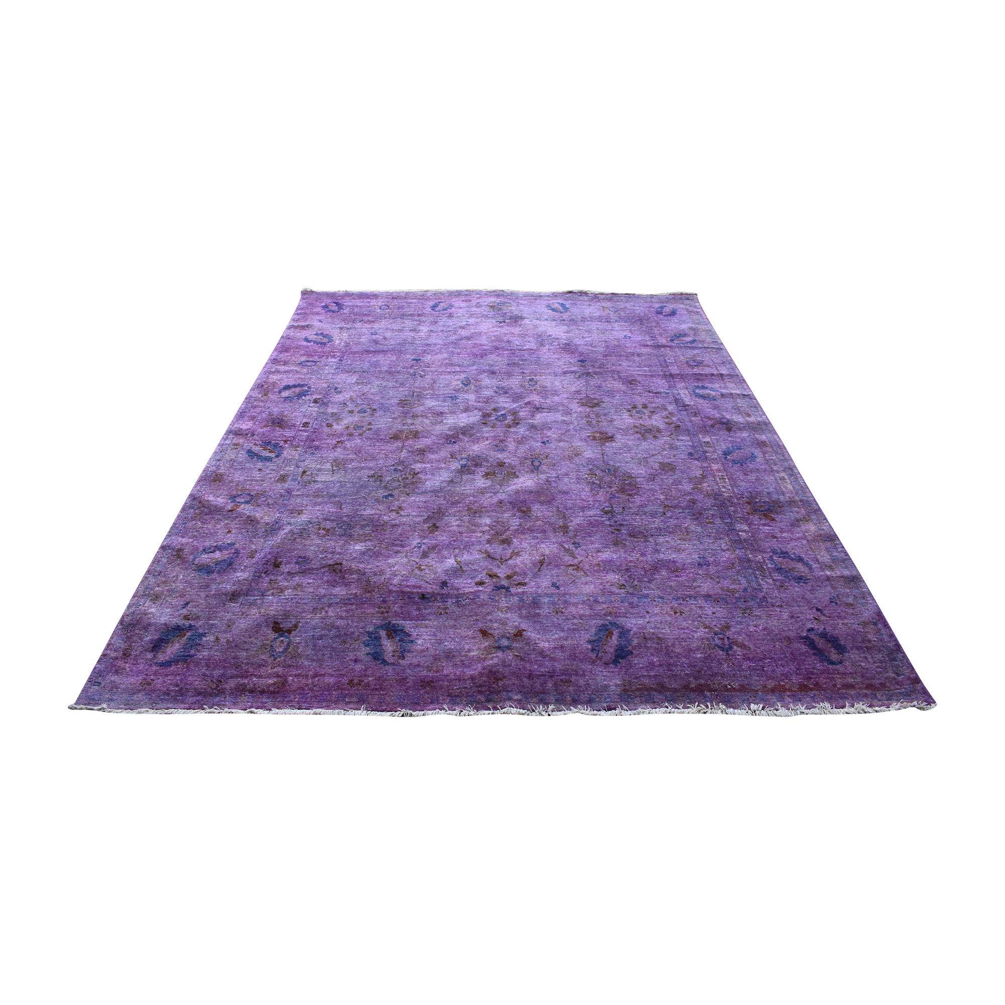 Rugs USA Rugs USA Overdyed Purple Rug ct