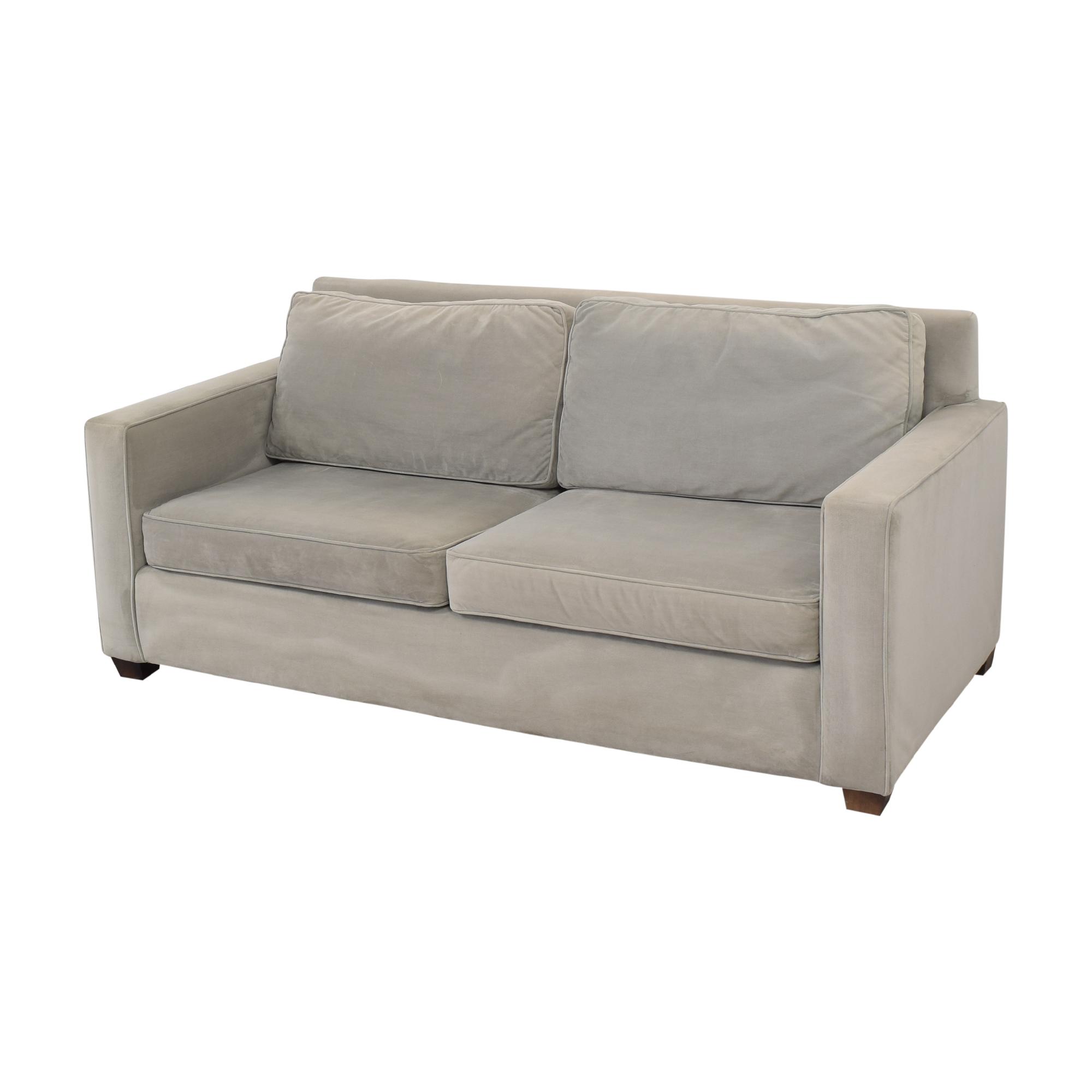 Williams Sonoma Williams Sonoma Two Cushion Sofa Classic Sofas