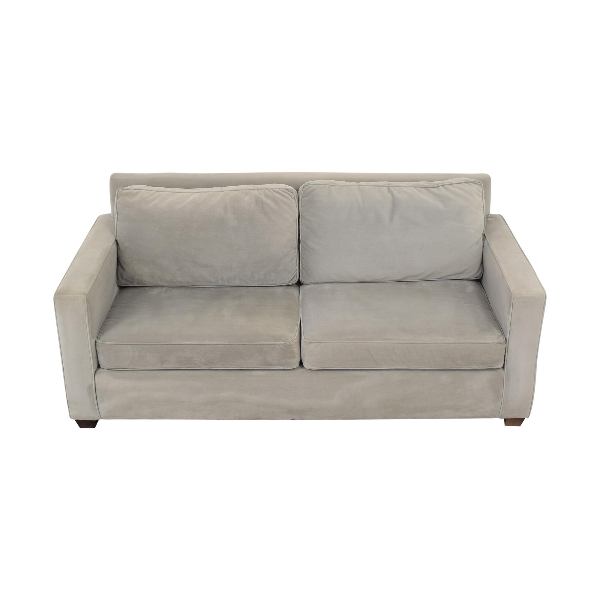 Williams Sonoma Williams Sonoma Two Cushion Sofa for sale