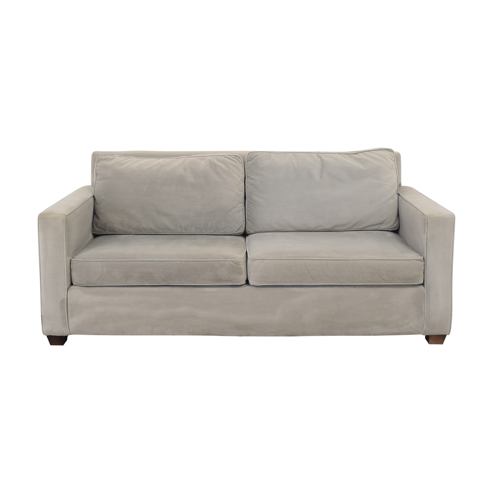 Williams Sonoma Williams Sonoma Two Cushion Sofa second hand