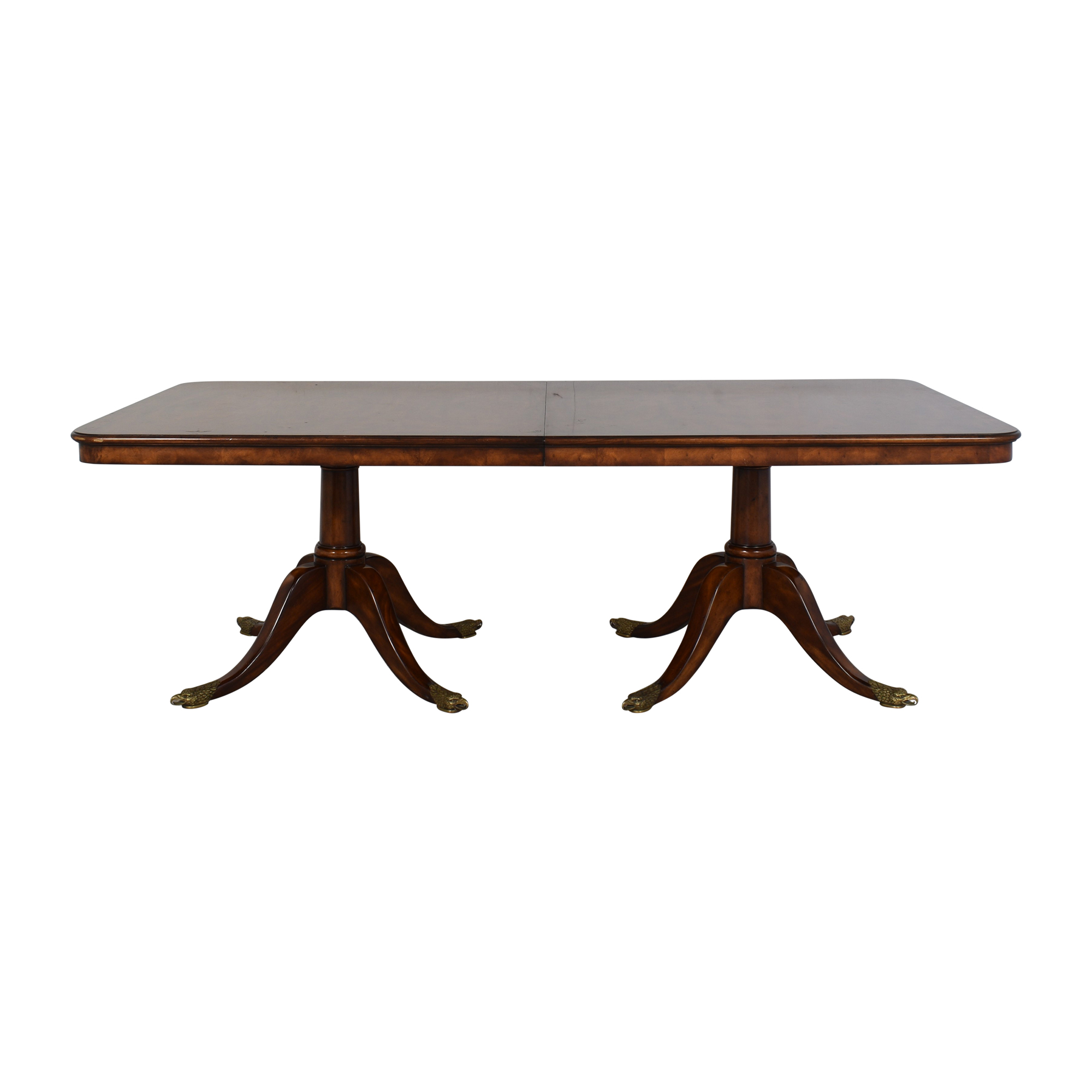 Baker Furniture Baker Furniture Mahogany Wood Extension Dining Table used