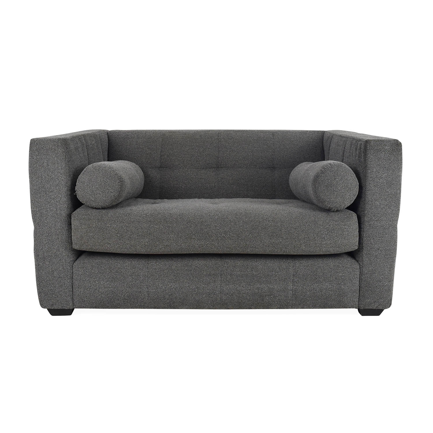 63% OFF   Decor NYC Decor NYC Boucle Loveseat / Sofas
