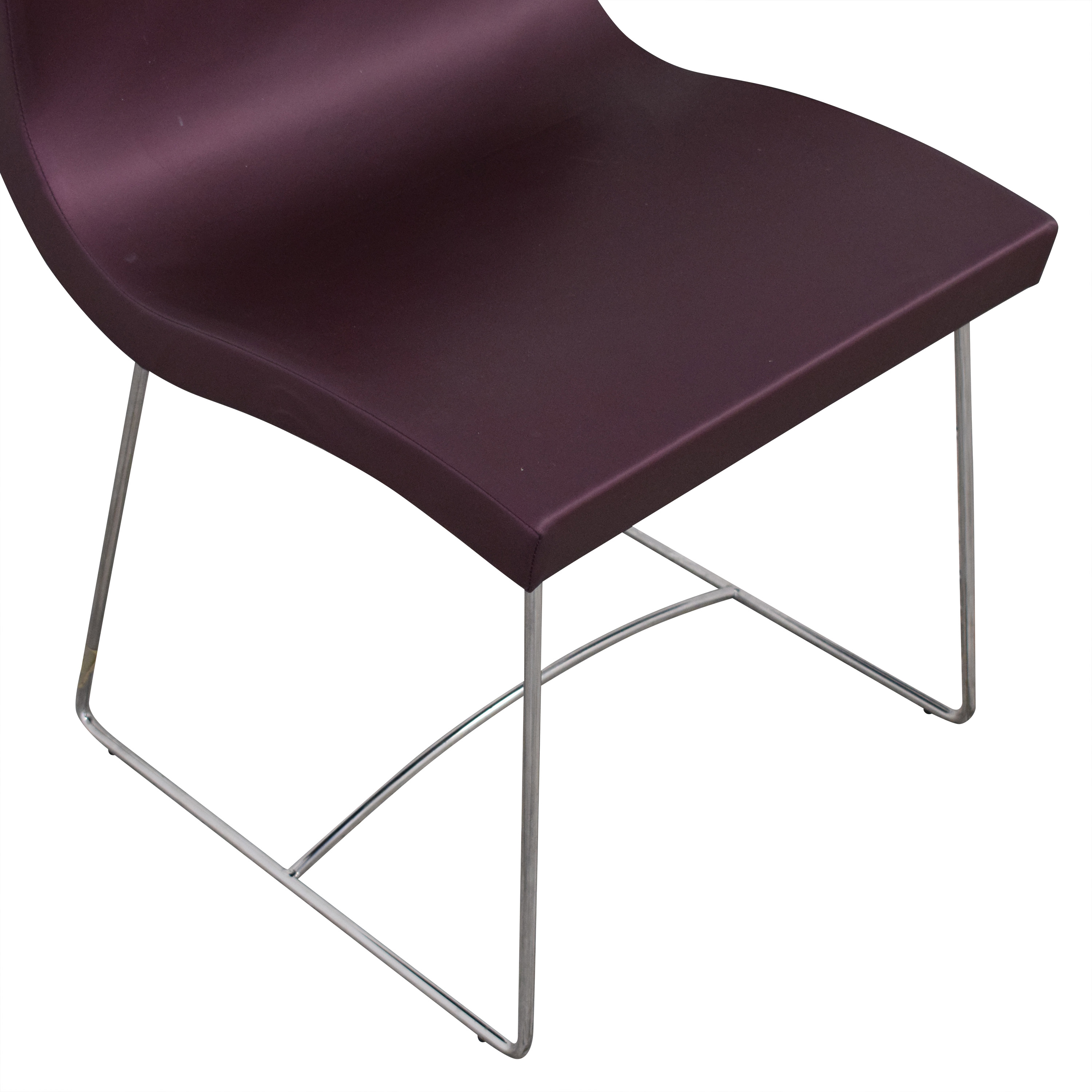 Ligne Roset Ligne Roset Purple Dining Chairs Dining Chairs