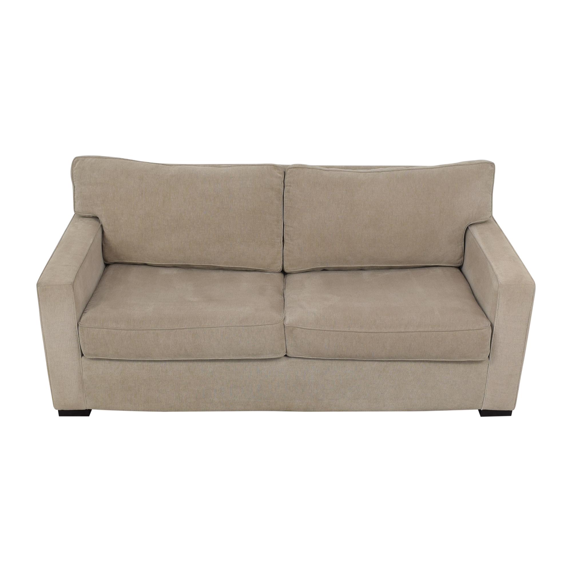 Macy's Two Cushion Sleeper Sofa / Sofas