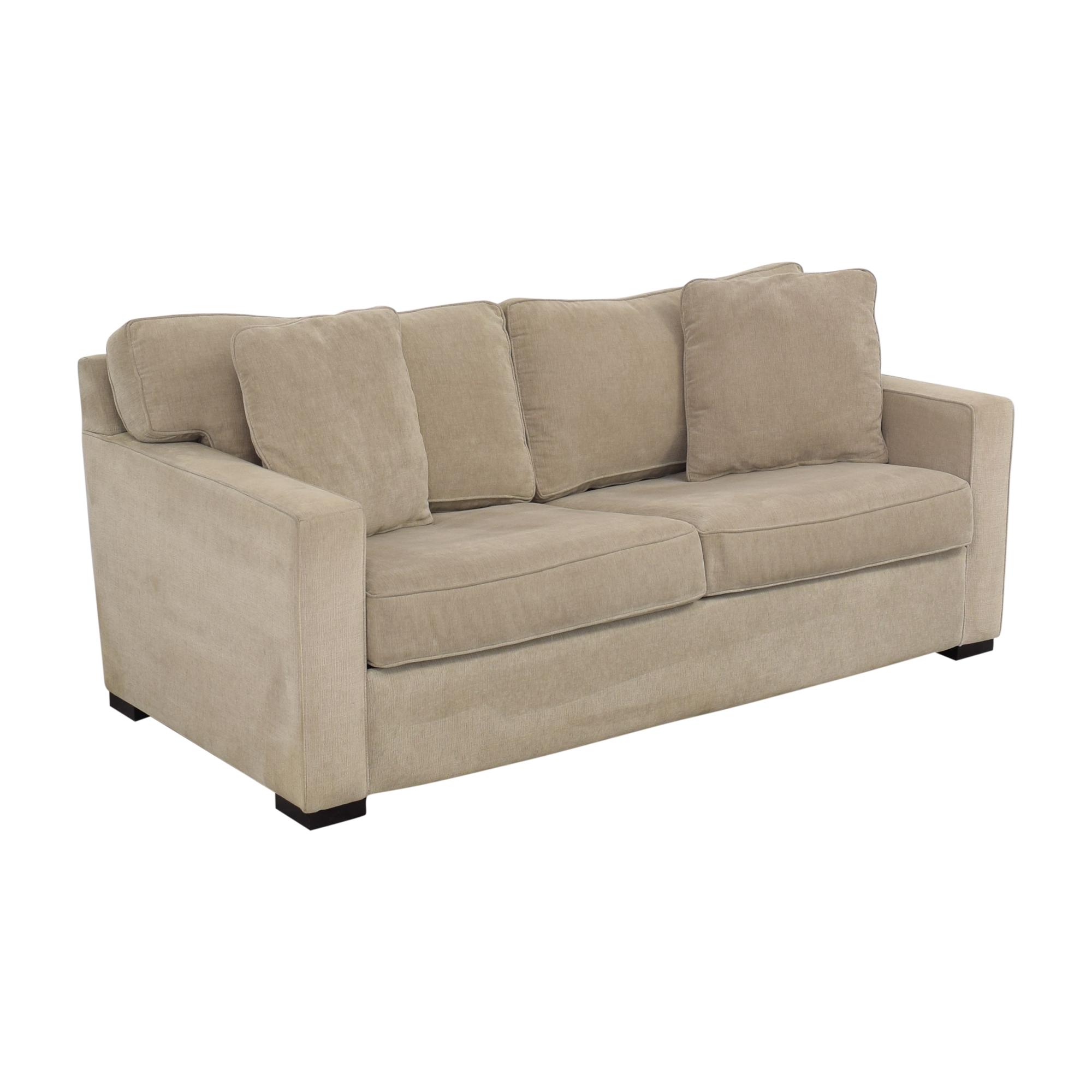 Macy's Macy's Two Cushion Sleeper Sofa dimensions