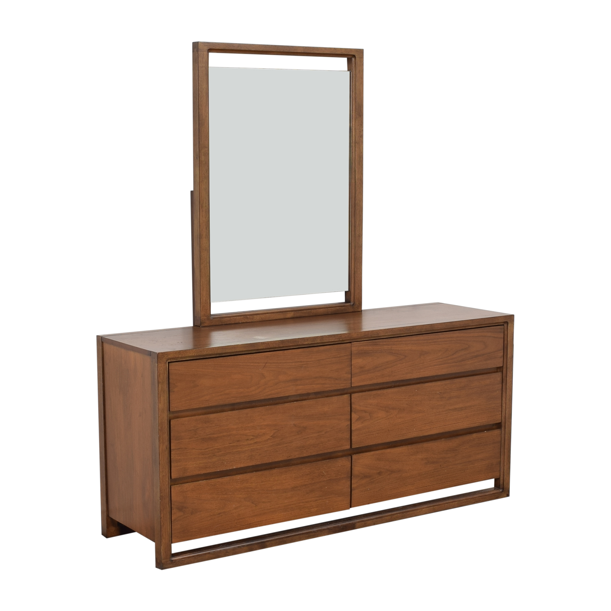 Raymour & Flanigan Raymour & Flanigan Aversa Six-Drawer Dresser with Mirror second hand