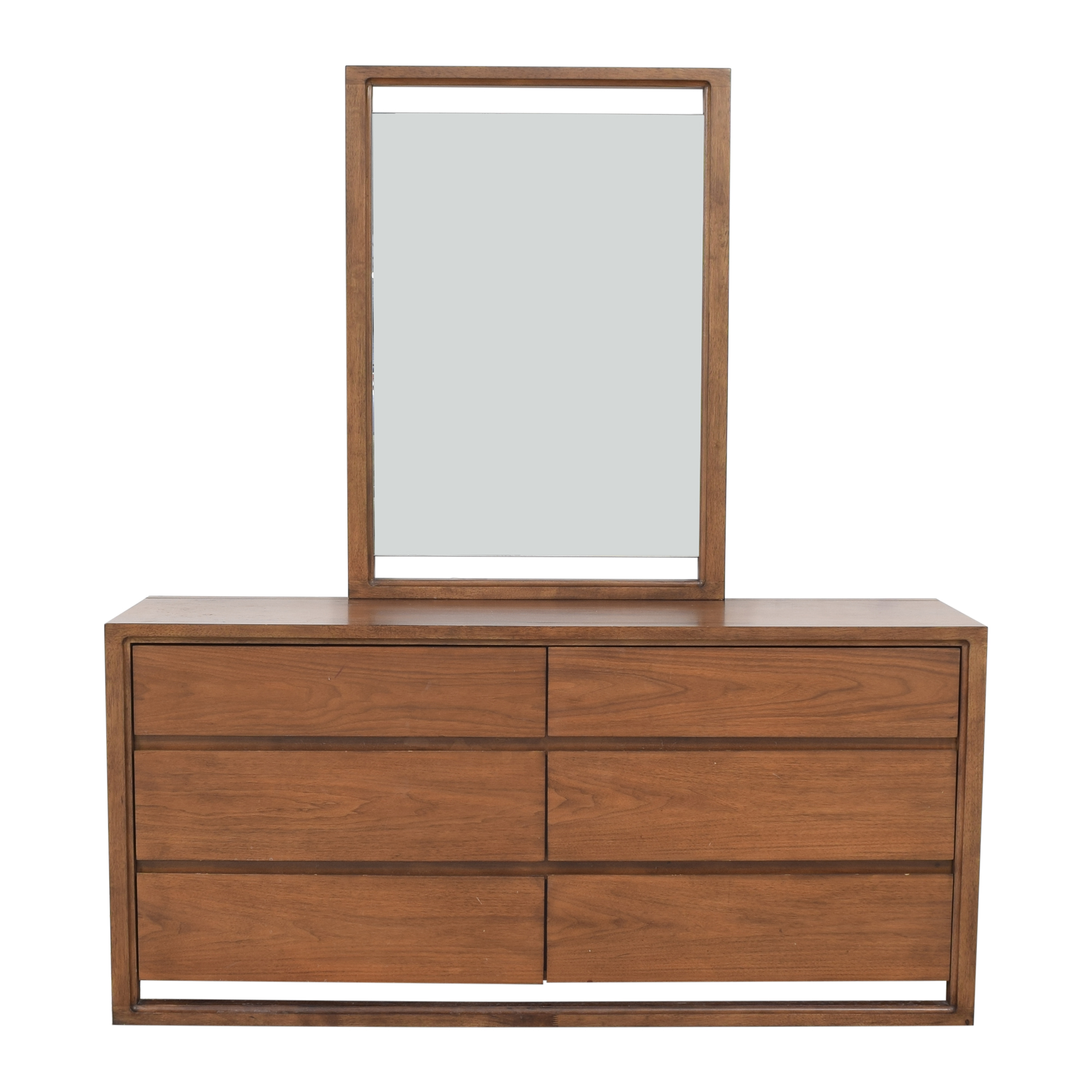shop Raymour & Flanigan Raymour & Flanigan Aversa Six-Drawer Dresser with Mirror online