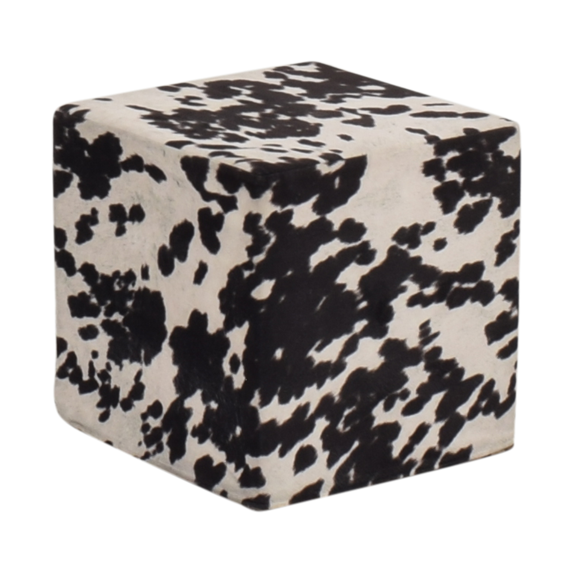 Cow Pattern Pouf second hand