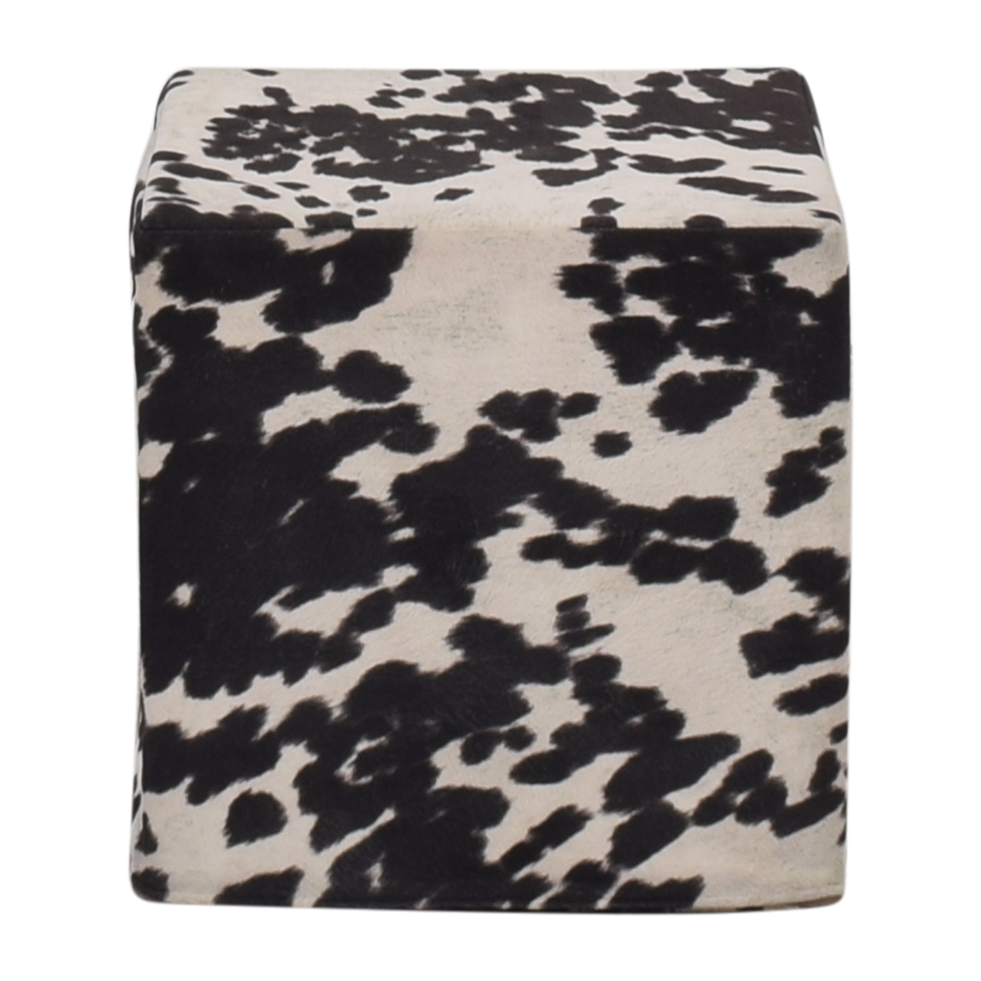 Cow Pattern Pouf discount
