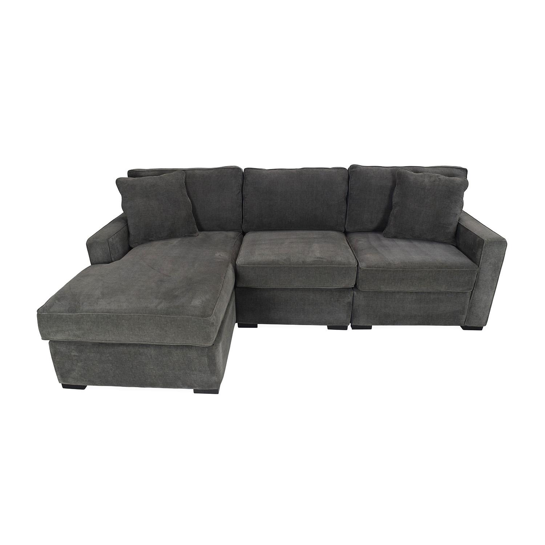 Charmant 51% OFF   Macyu0027s Radley Sectional Sofa / Sofas
