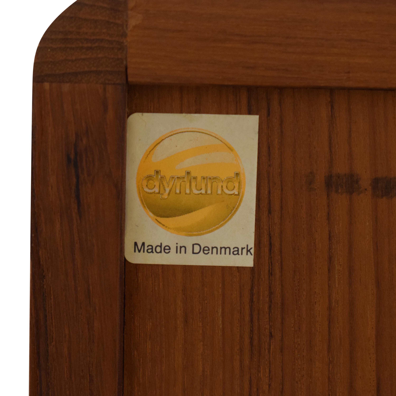 Dyrlund Dyrlund Plinth Base Danish Credenza dimensions