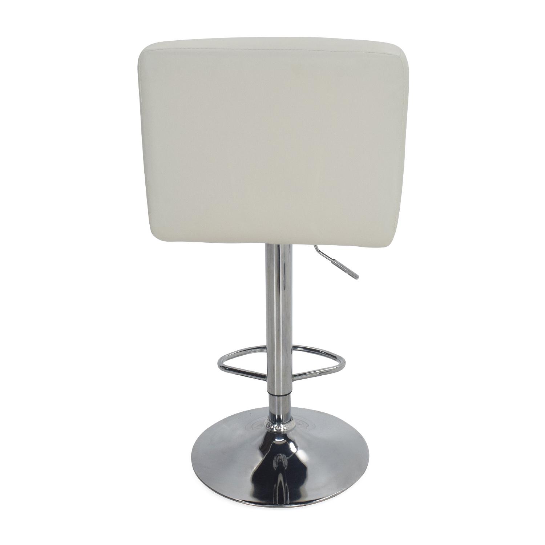 ... Roundhill Furniture Roundhill Furniture White Bar Stools Nyc ...