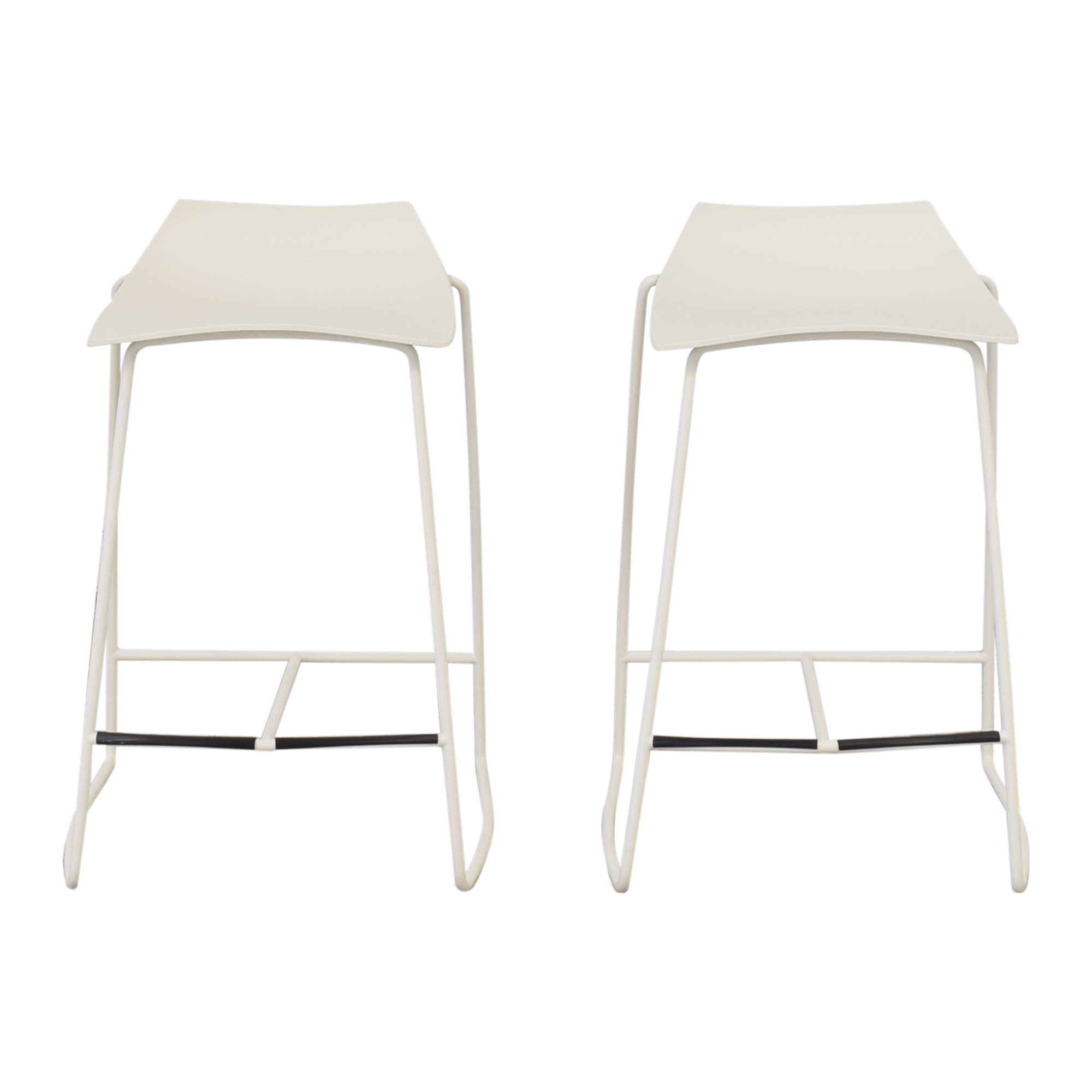 Room & Board Room & Board by HOOP Counter Stool in White Chairs